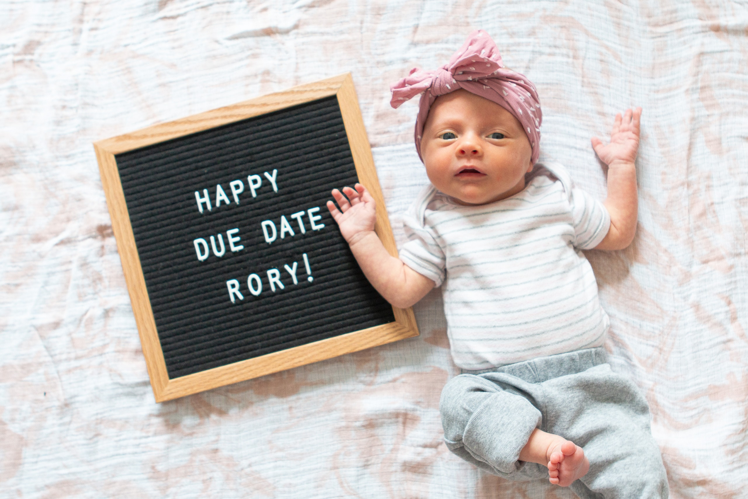 Rory's due date