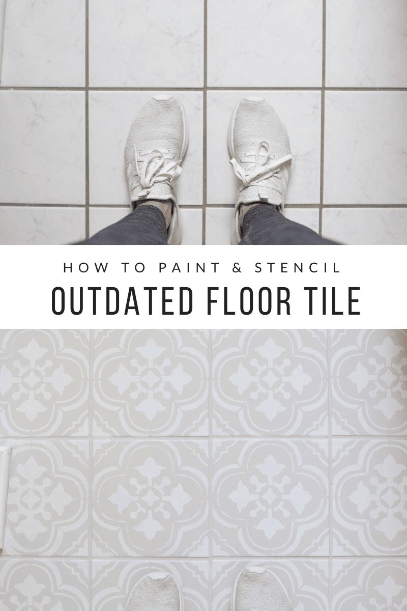 How to paint floor tile