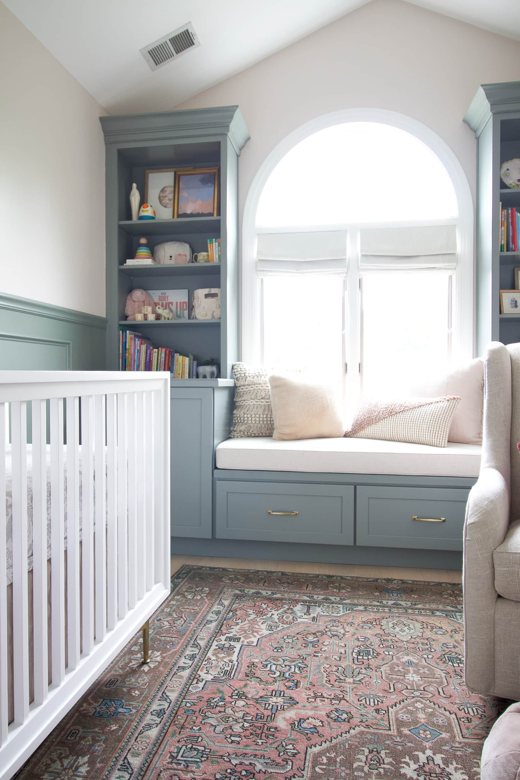 Nursery updates - how we're using our baby girl's nursery everyday