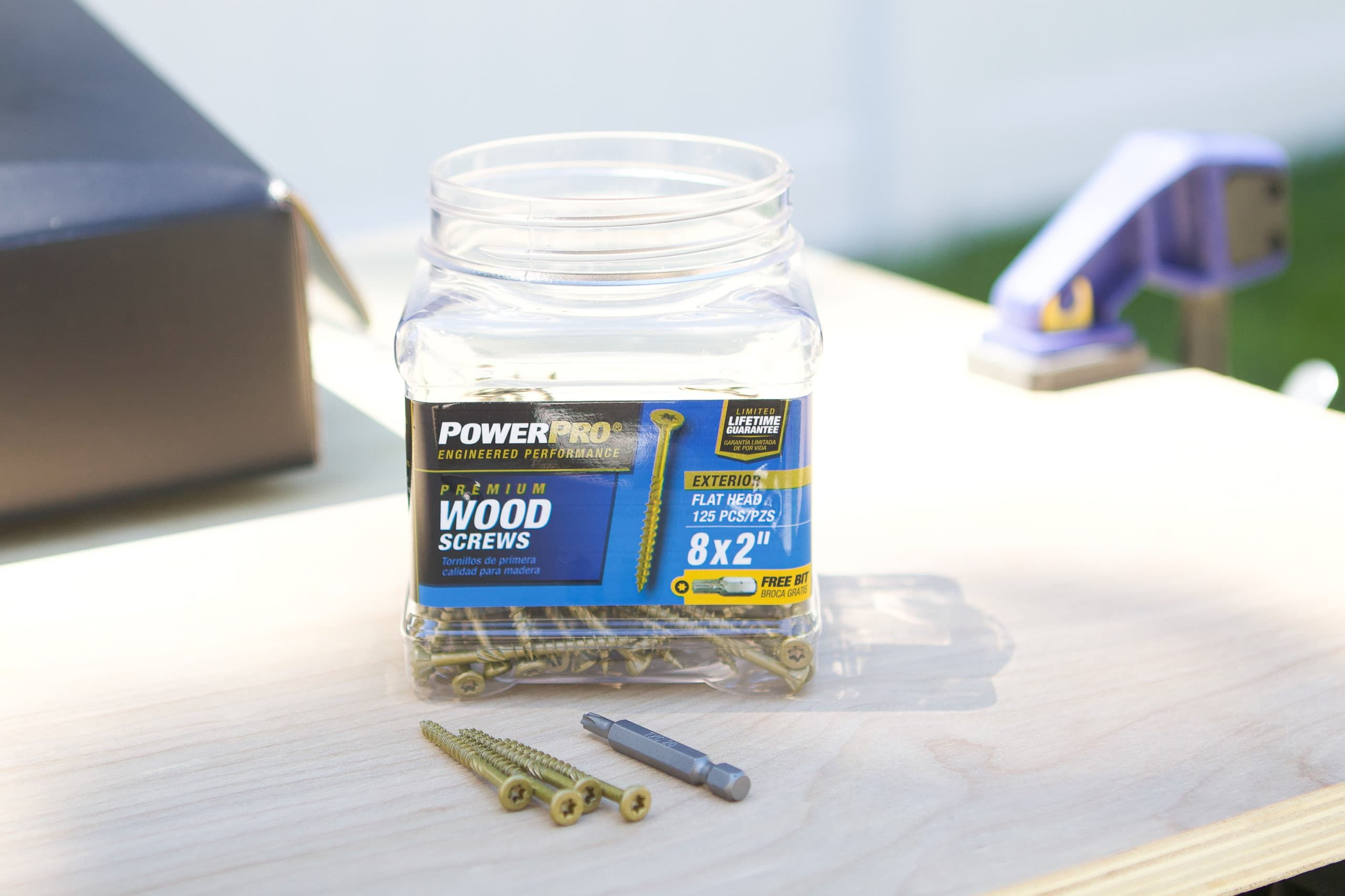 Power pro hardware screws
