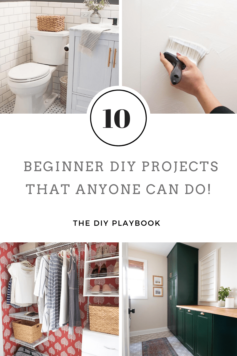 10 beginner DIY projects