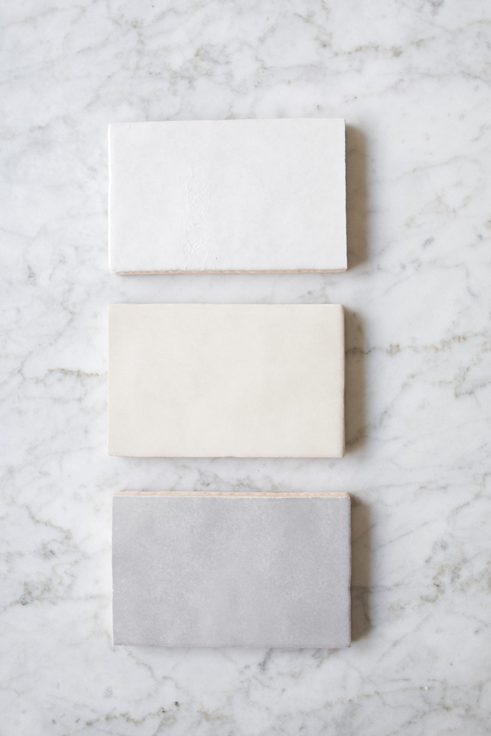 Choosing new shower tile