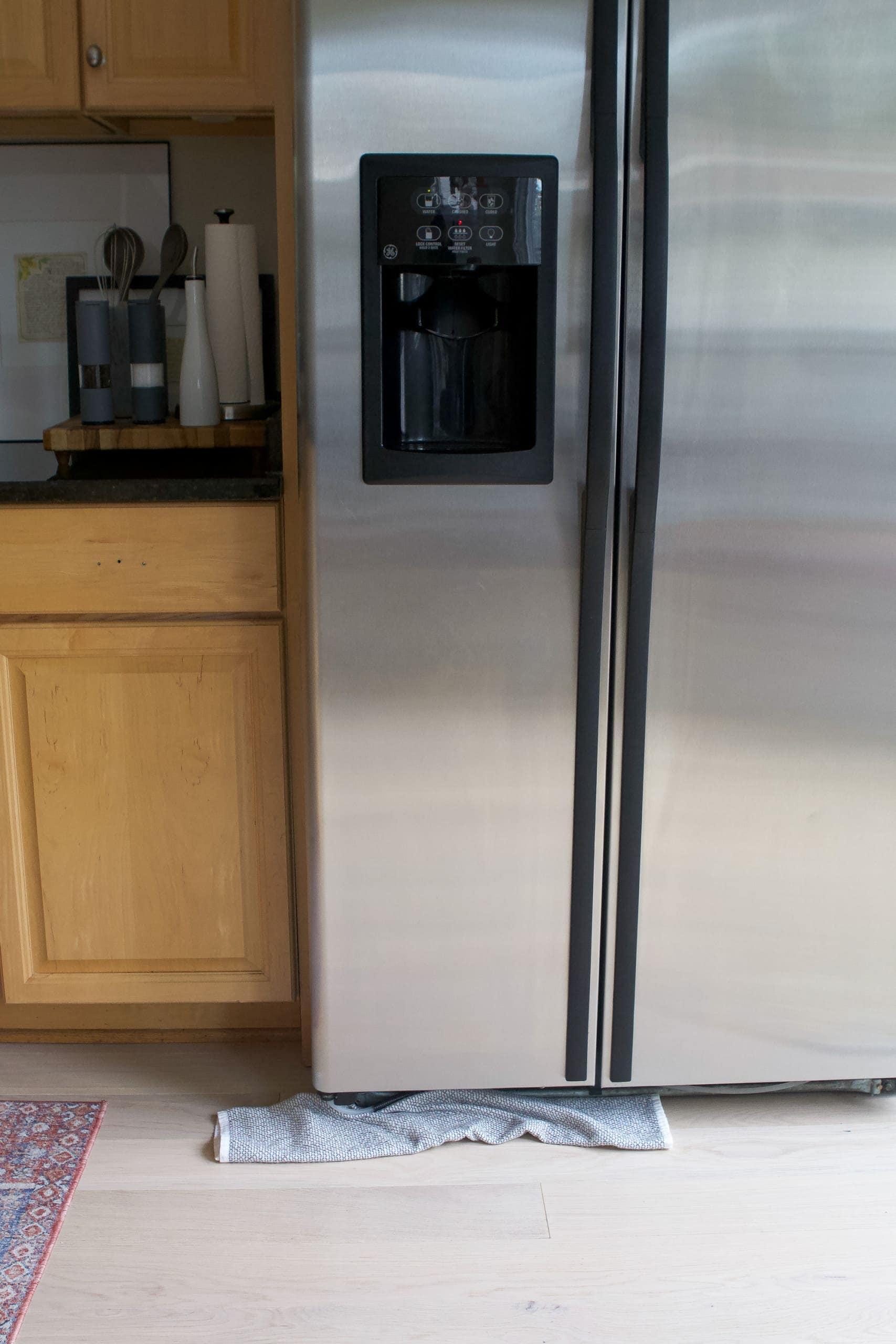 Our leaky fridge