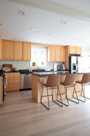 Kitchen renovation before photos