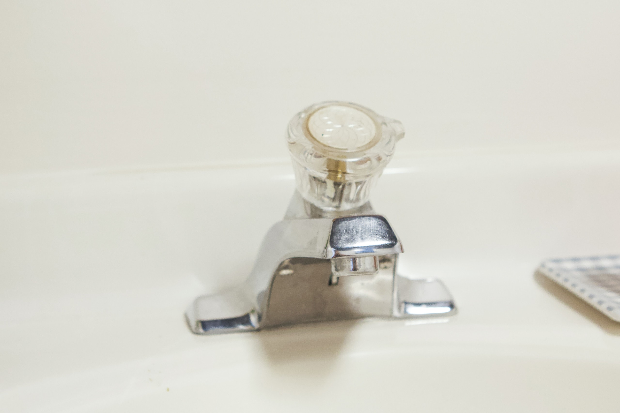 Old bathroom faucet