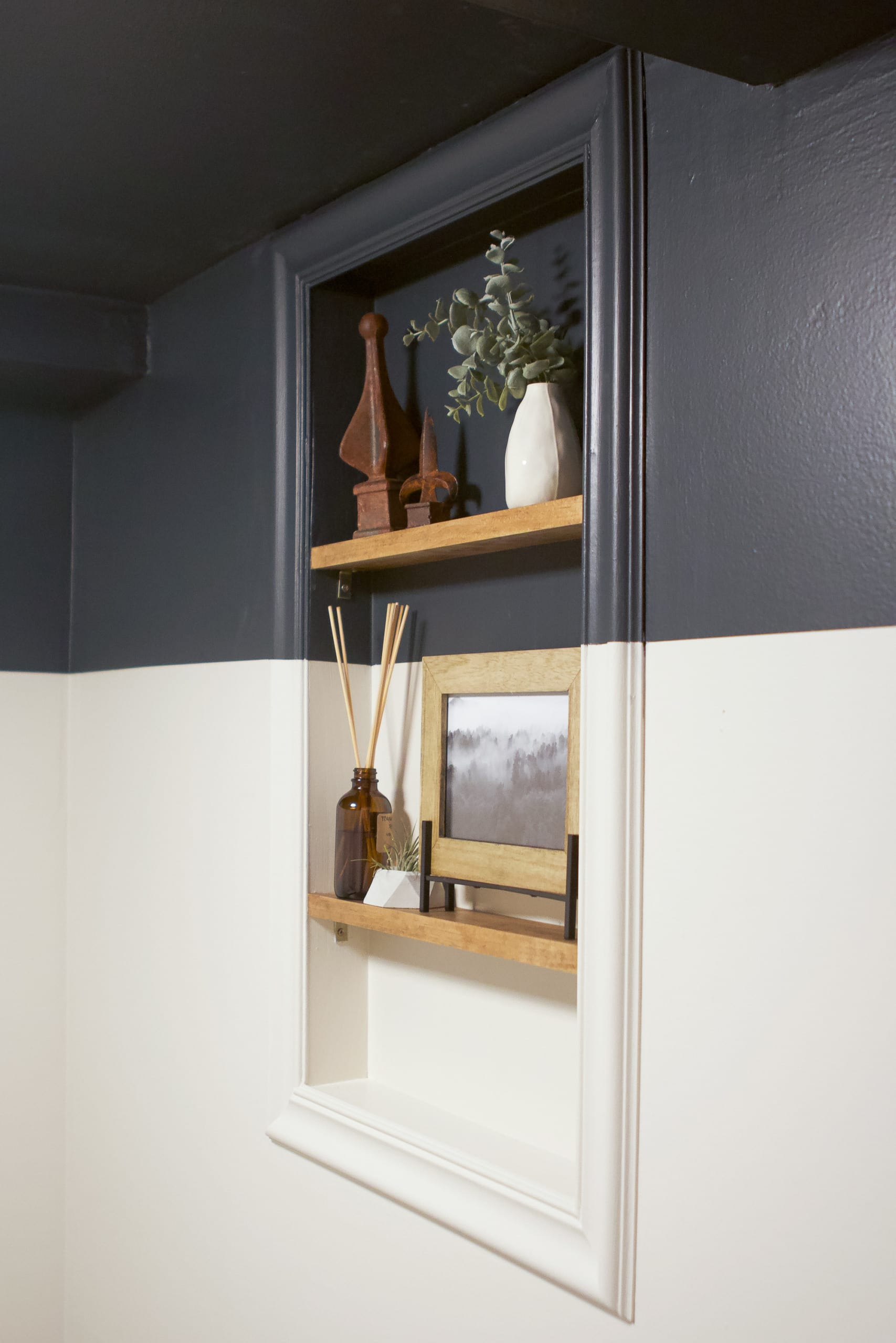 Our new window shelves