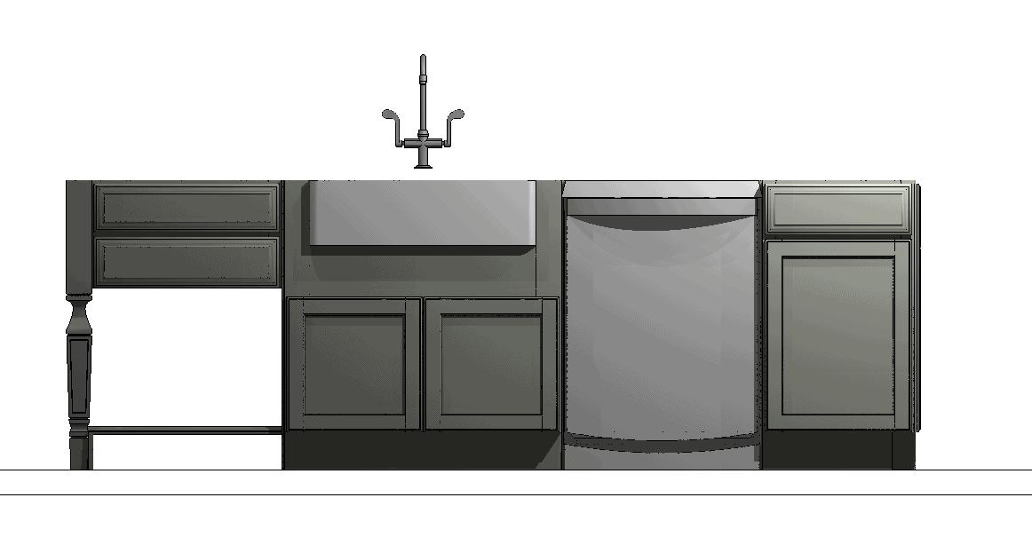 New kitchen island design plan
