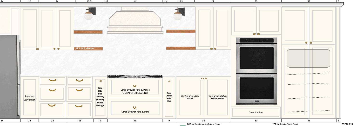 Range wall layout