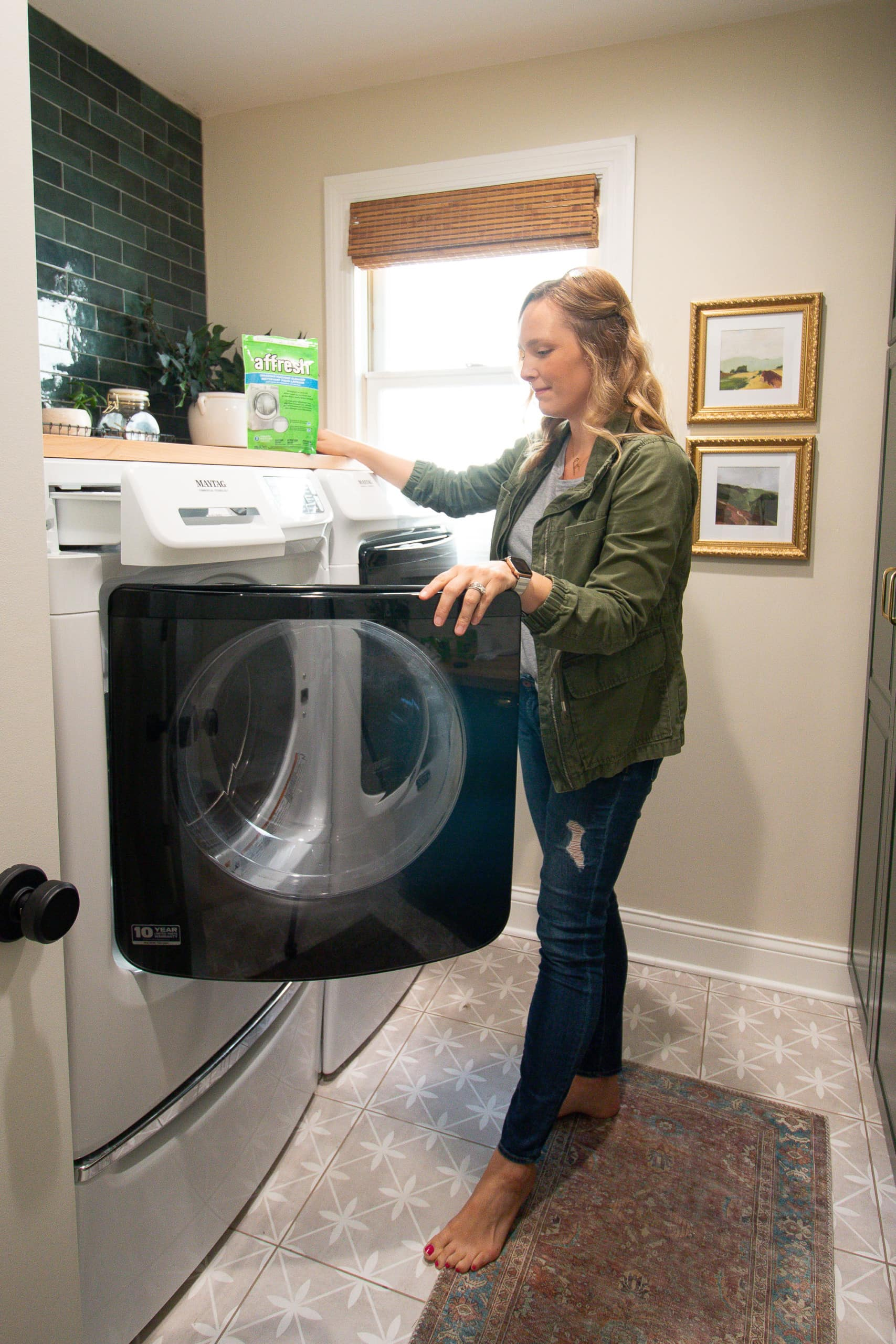 Tips to clean a front load washing machine