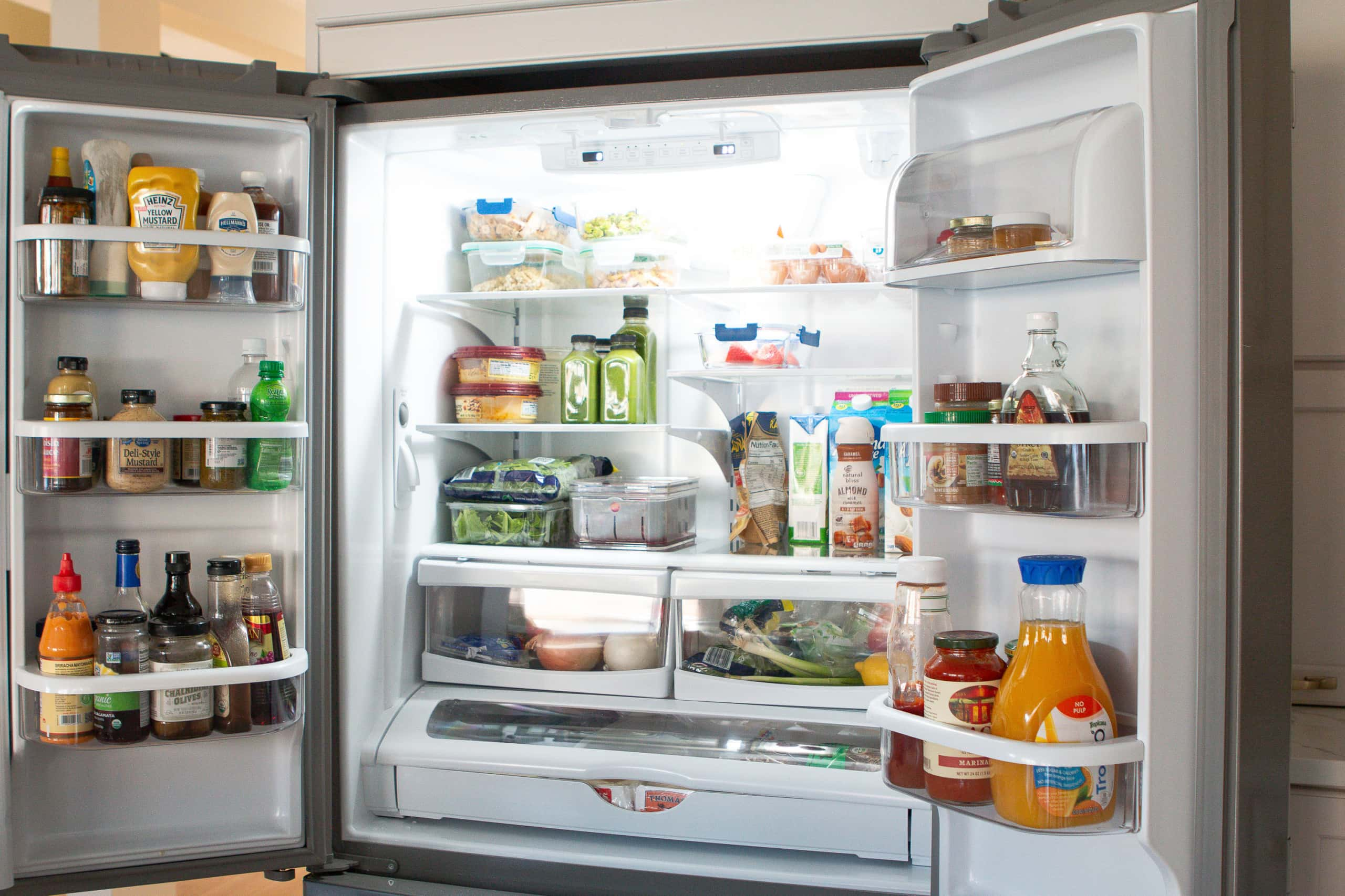 French door style refrigerator from Maytag