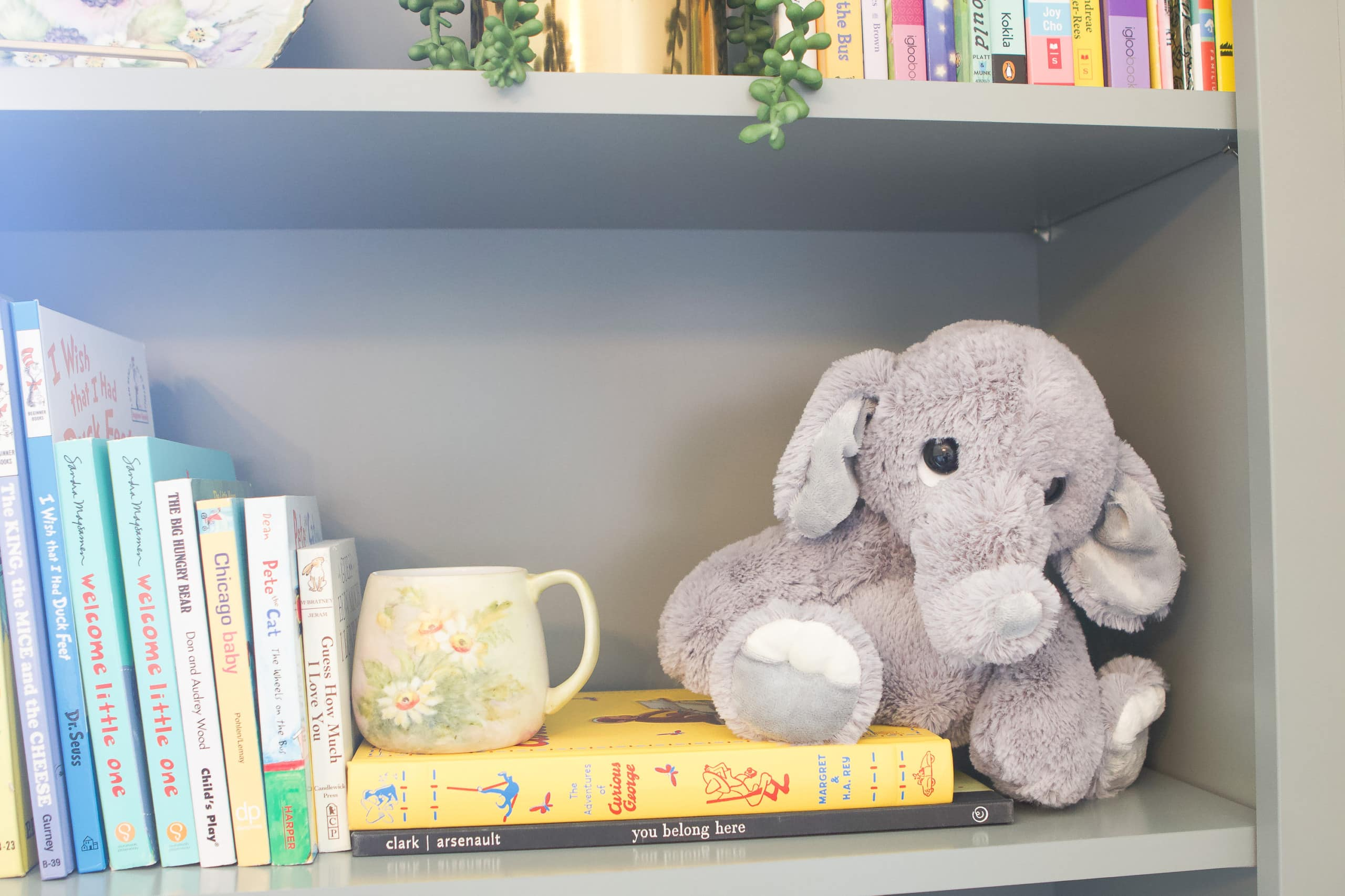 Using books in a nursery