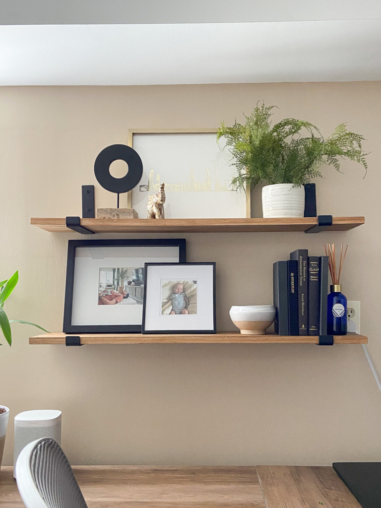 How to make simple wood shelves