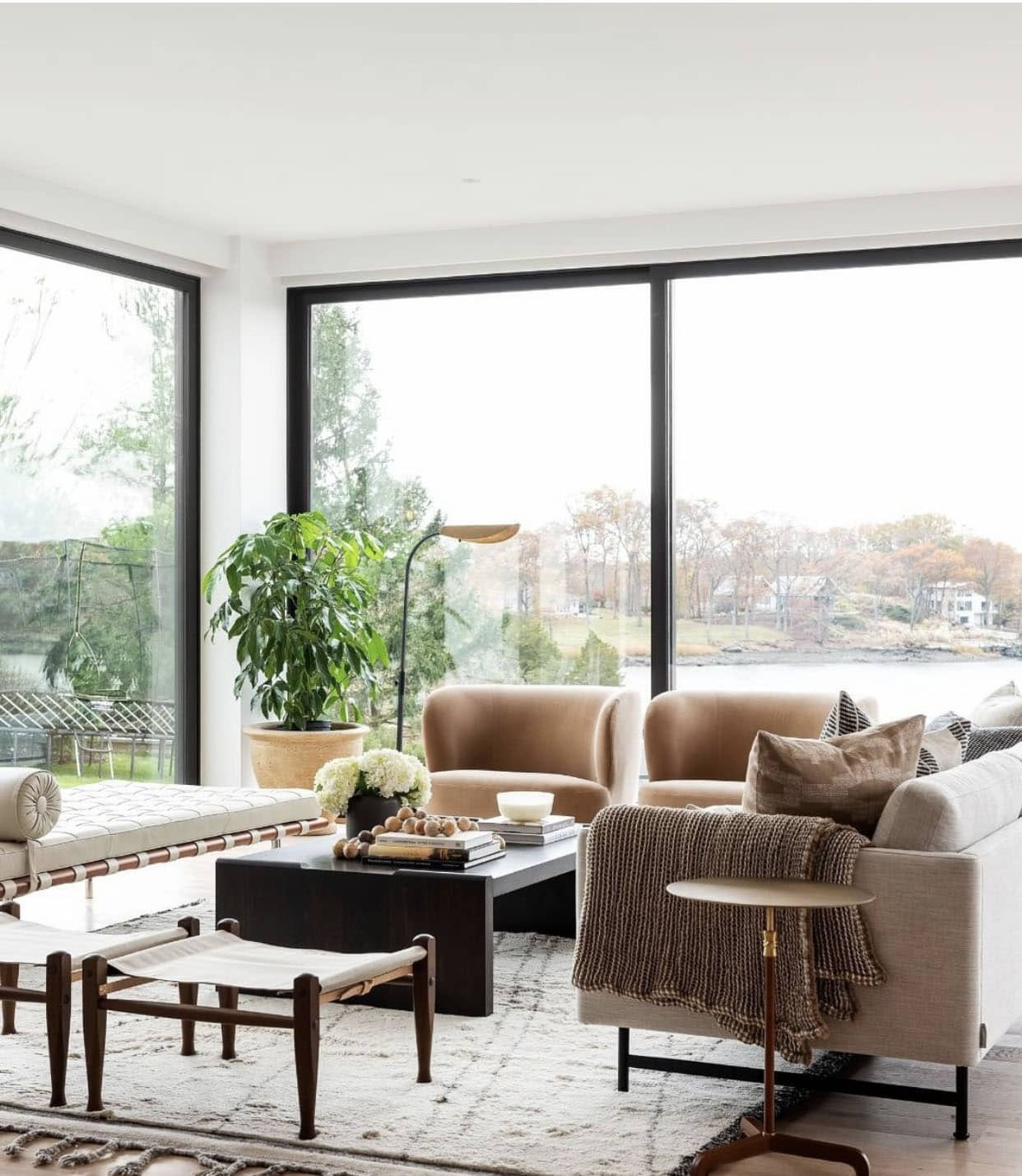 How to figure out your furniture layout in a living room space