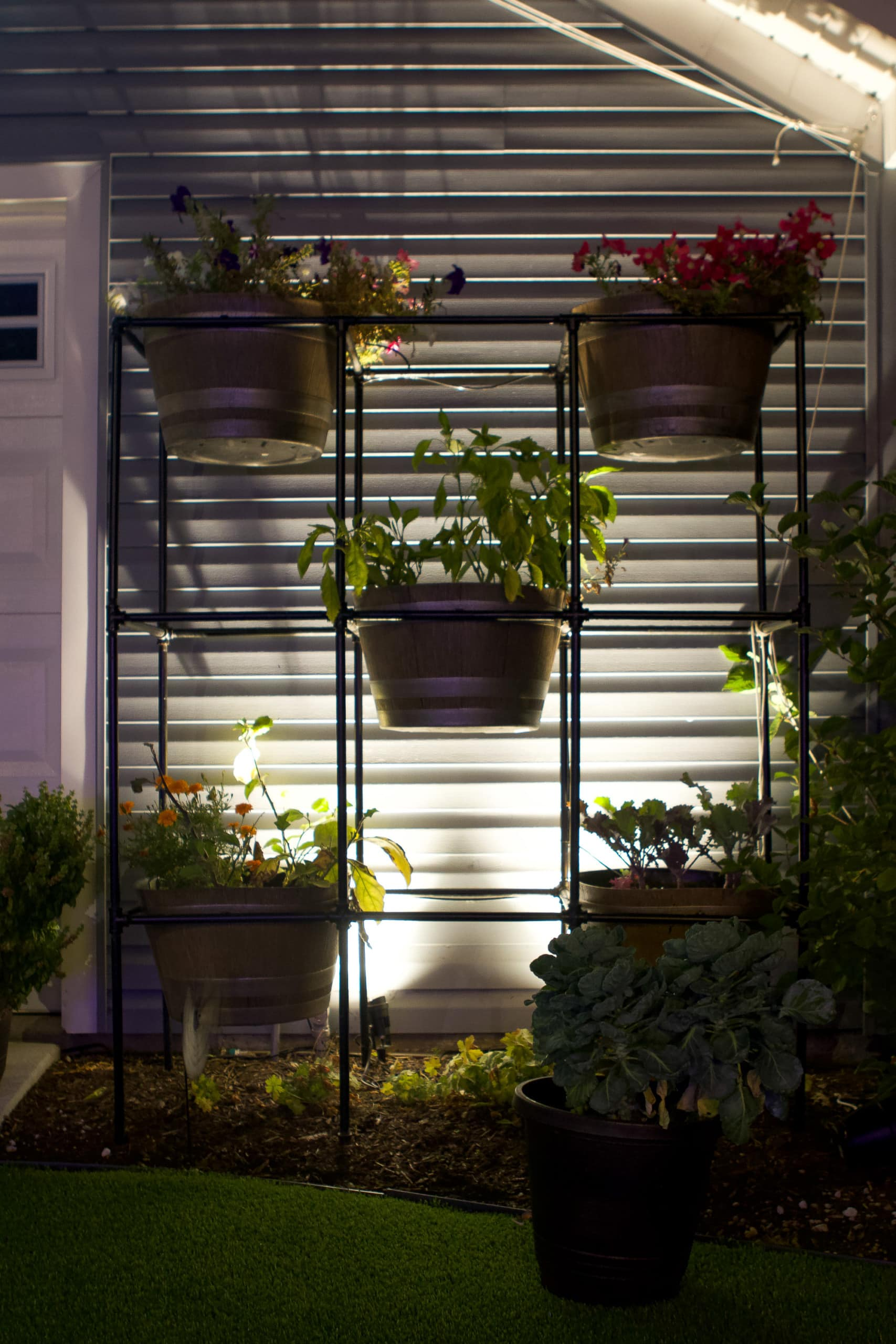 Adding lighting to your outdoor room