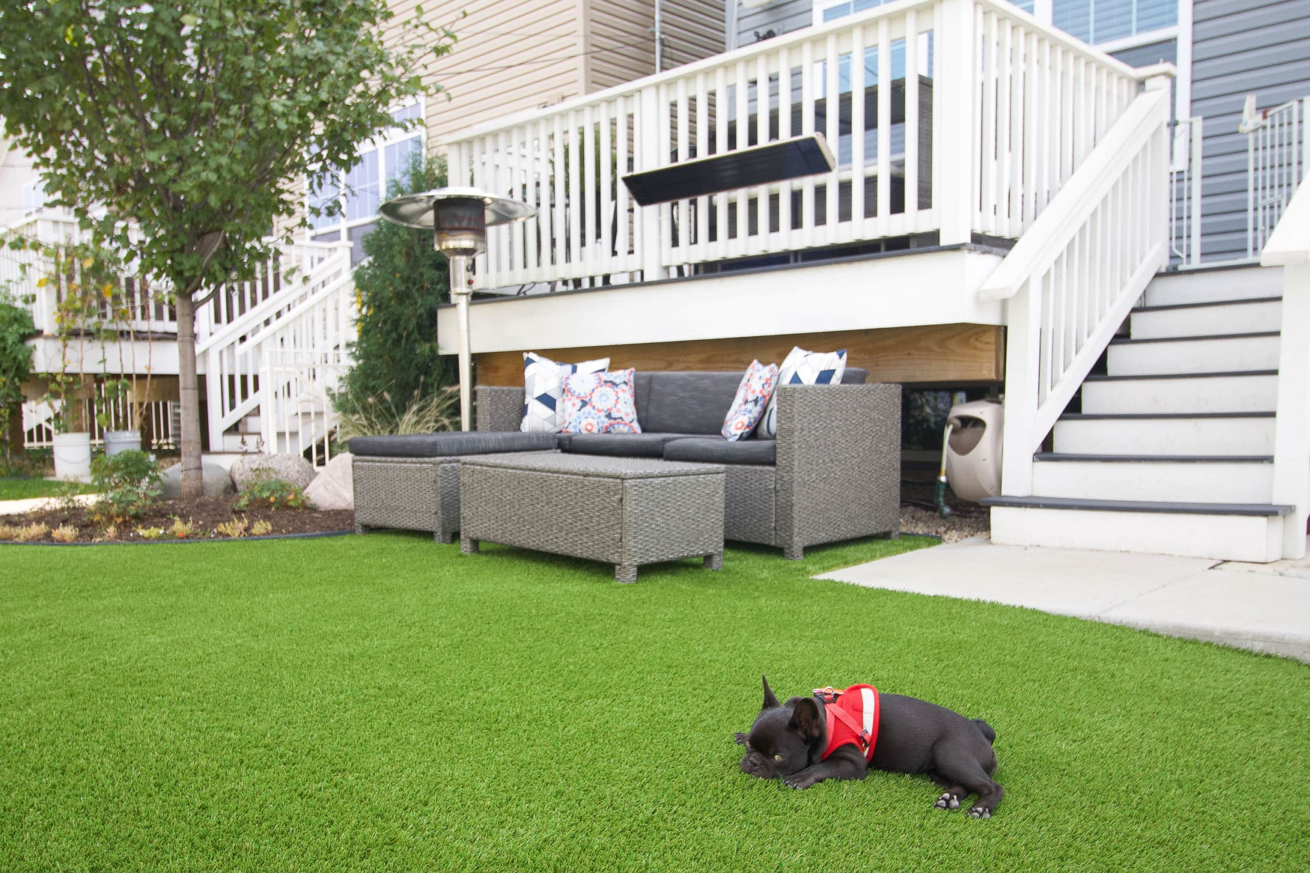 Adding turf to your backyard