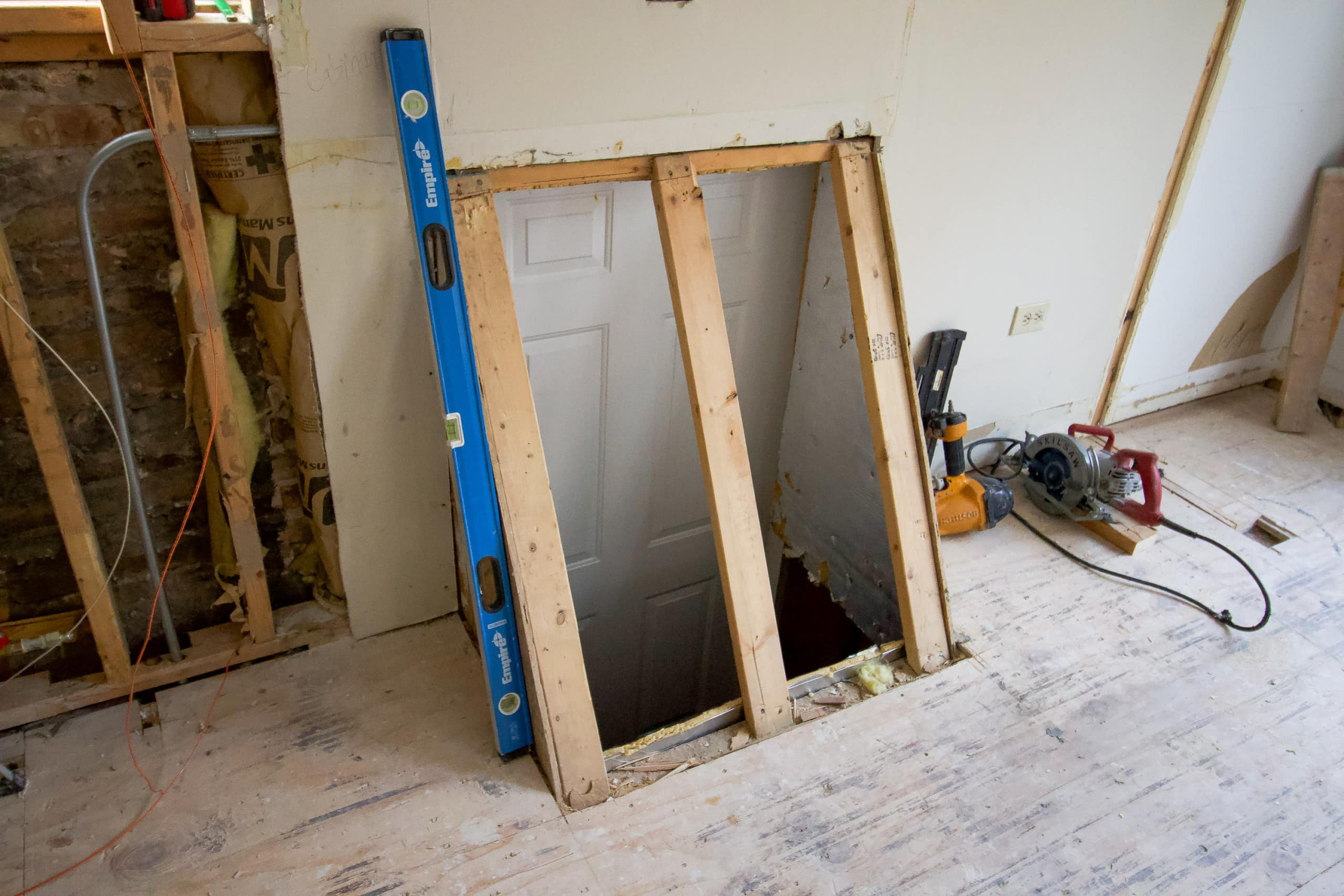 Basement walkout door