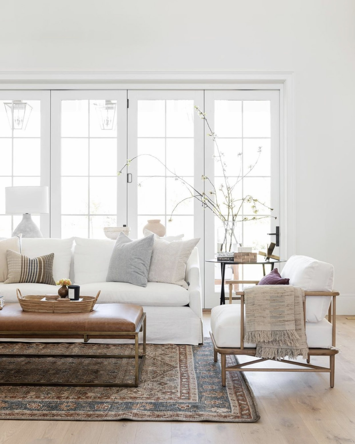 Figuring out the best living room layout