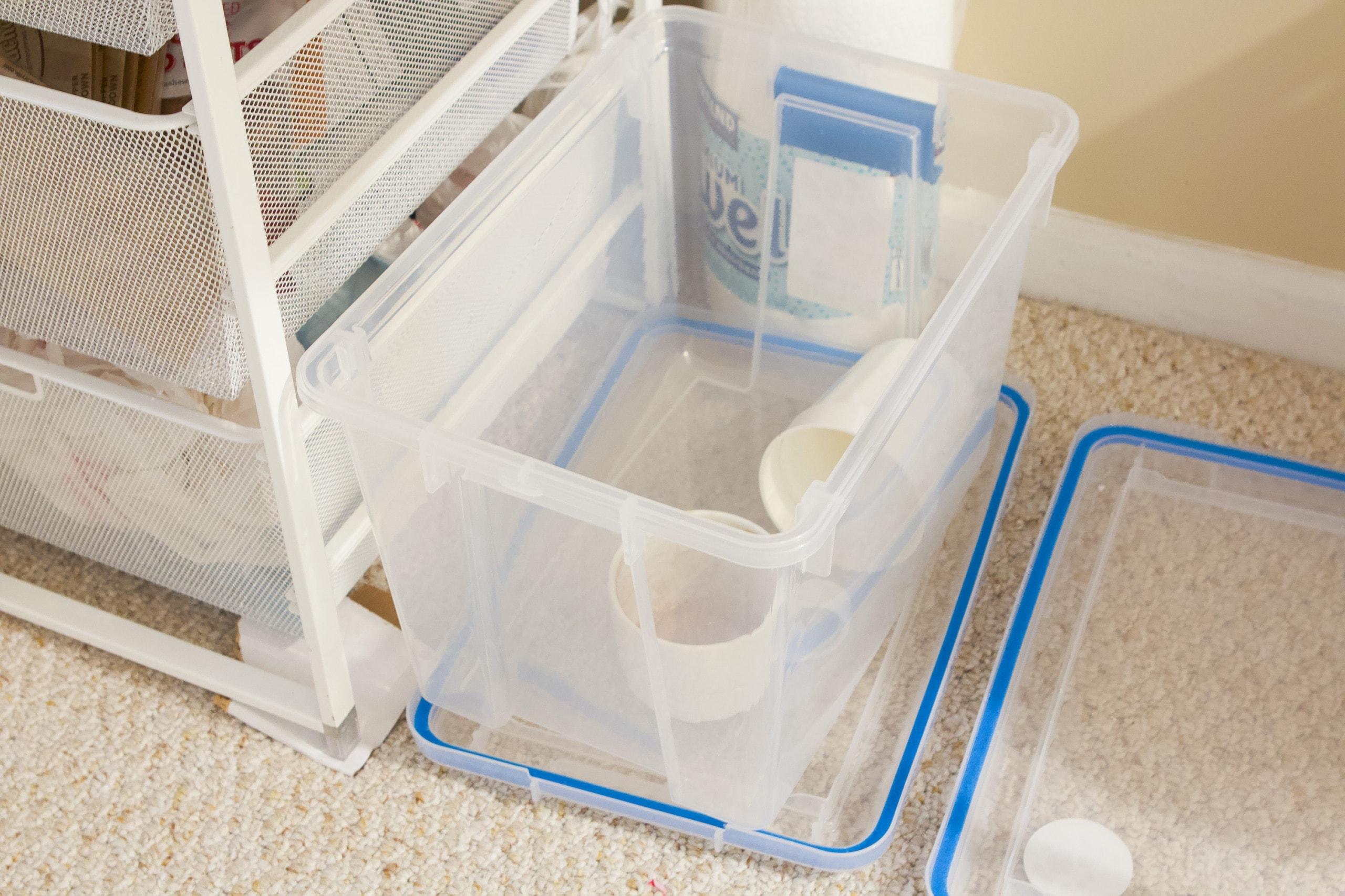 Dirty dish bin