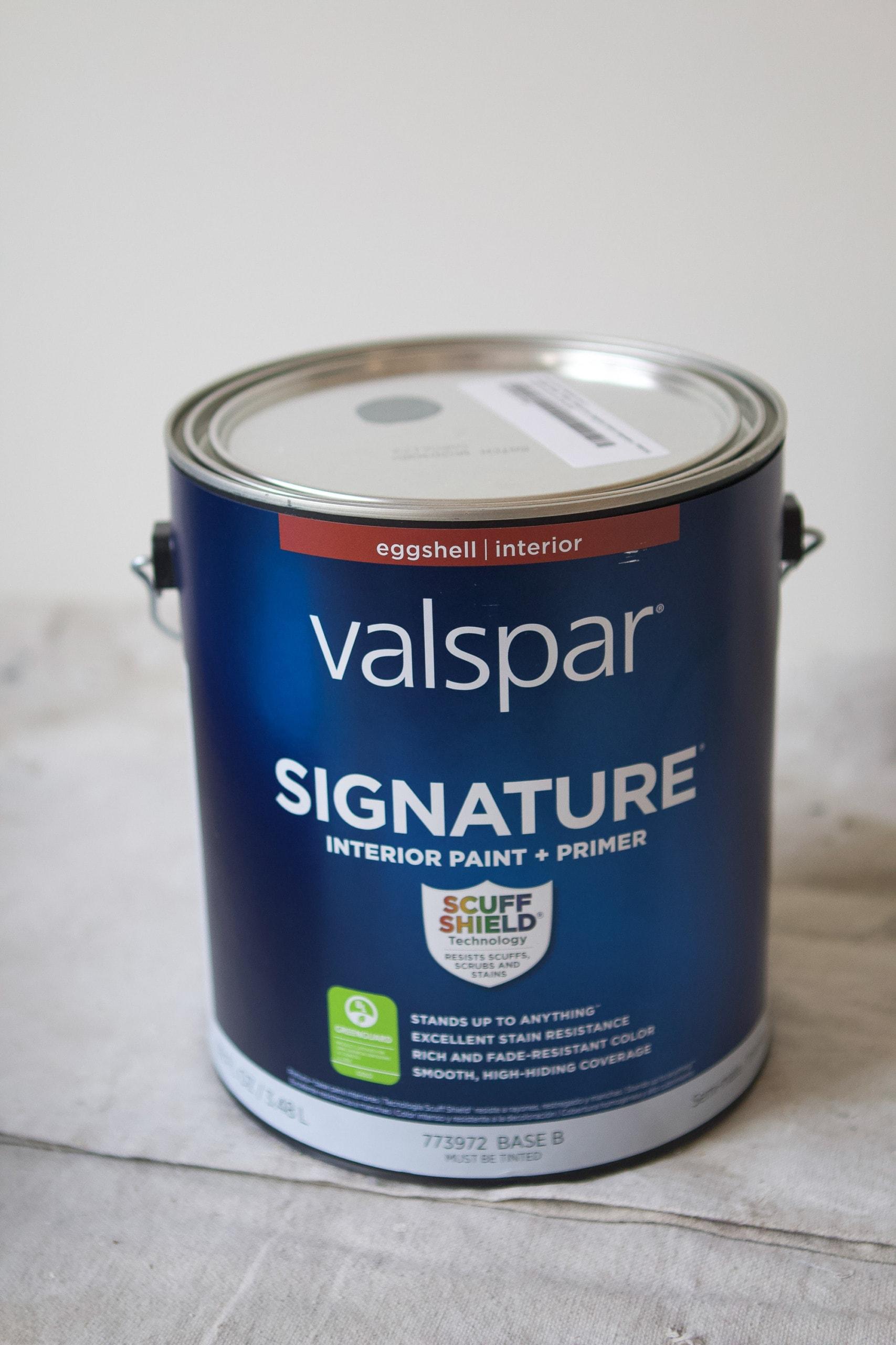 Choosing Valspar signature paint