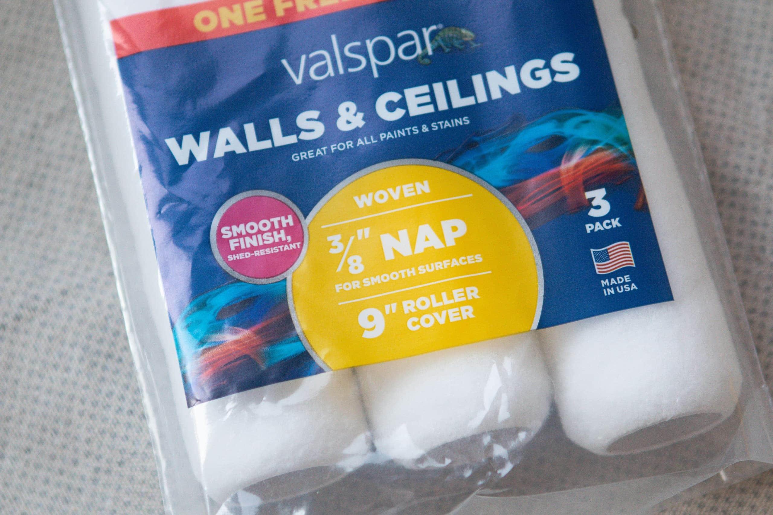 "3/8"" nap for walls"