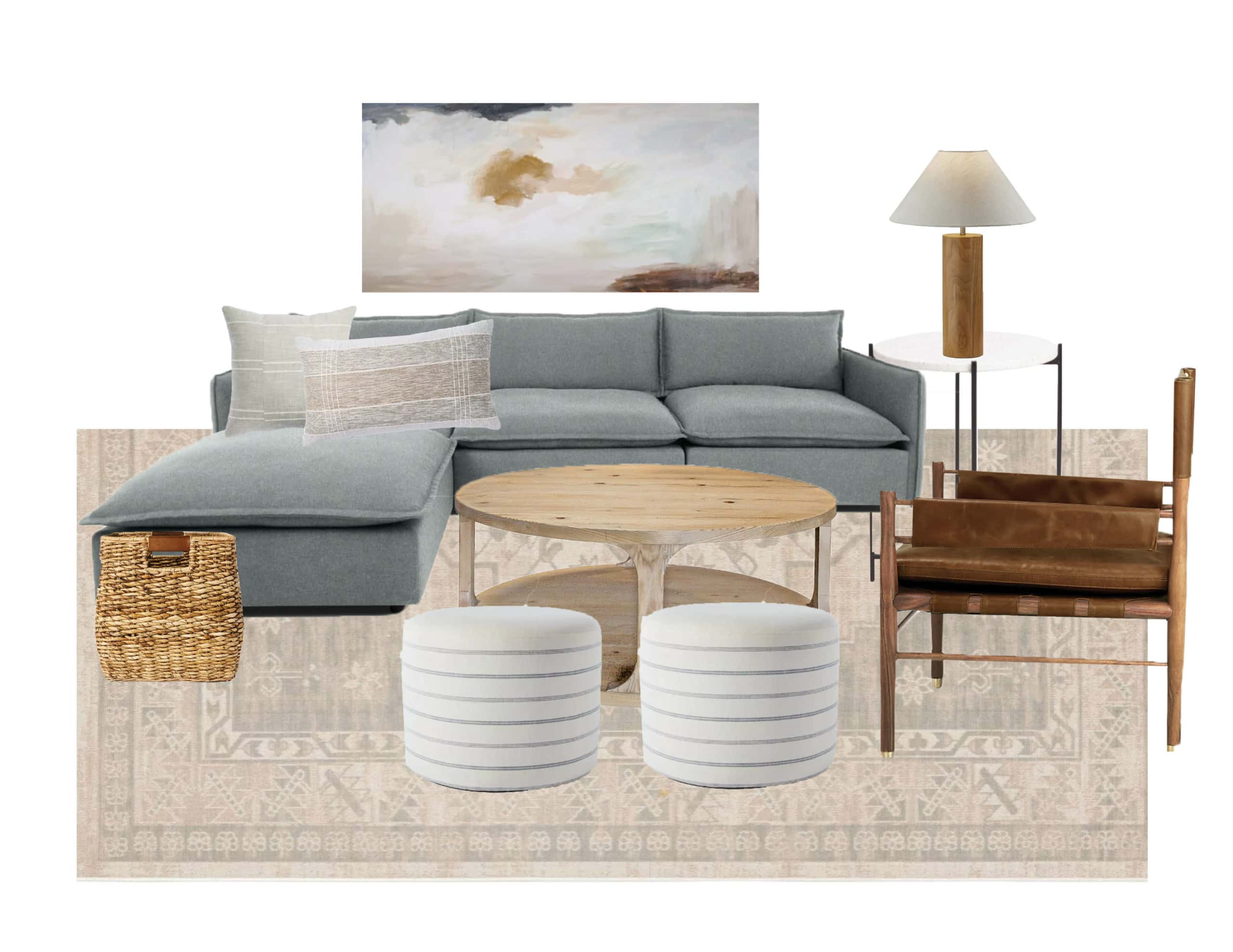 Figuring out the best living room furniture layout