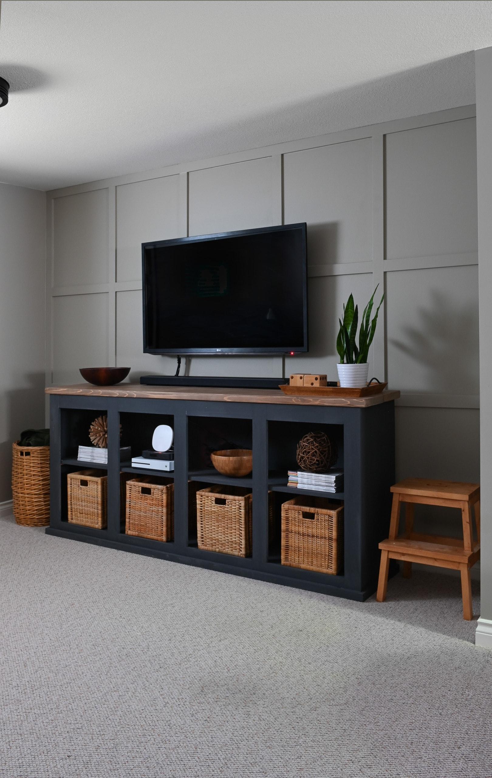 Dina's DIY basement console