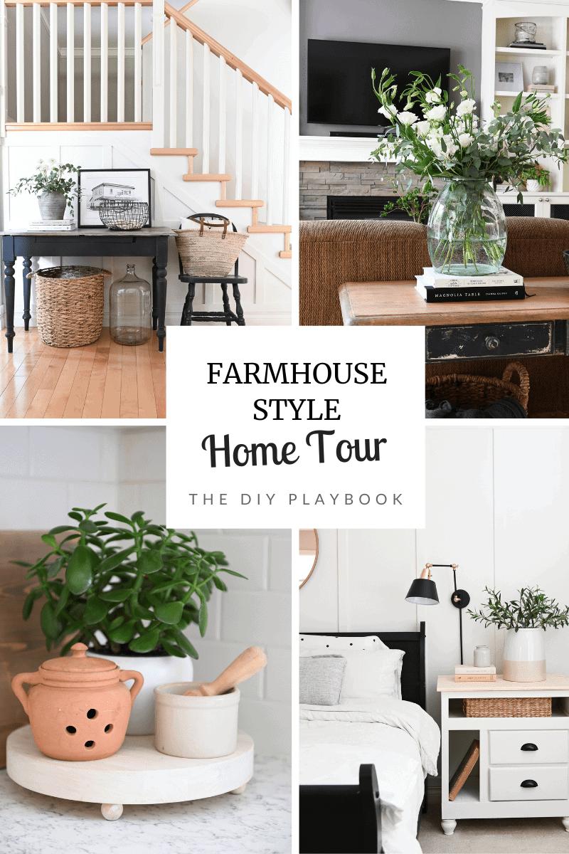 DIY farmhouse style home tour