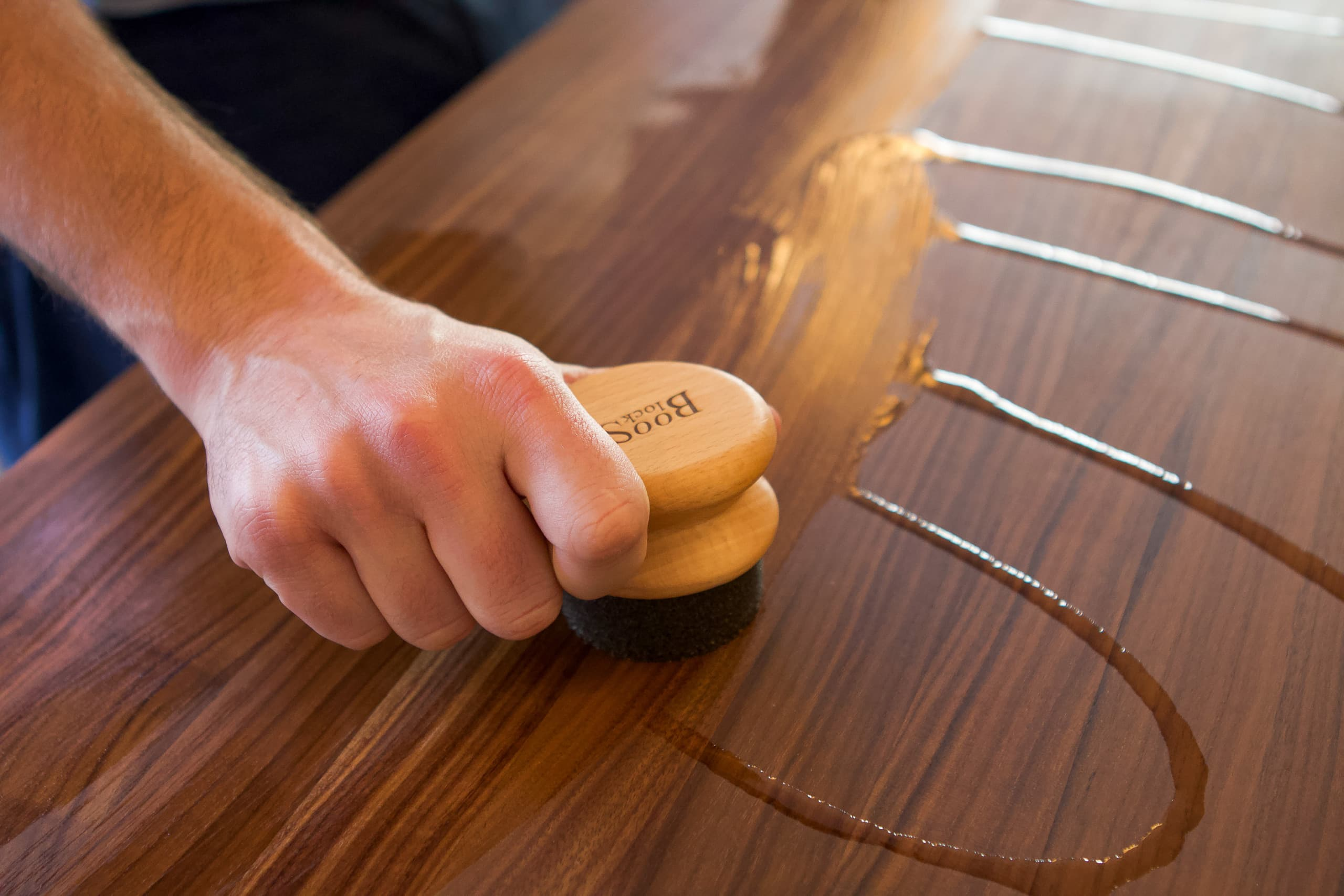 Make sure you oil your wood butcher block
