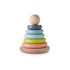 Wood stacking rings