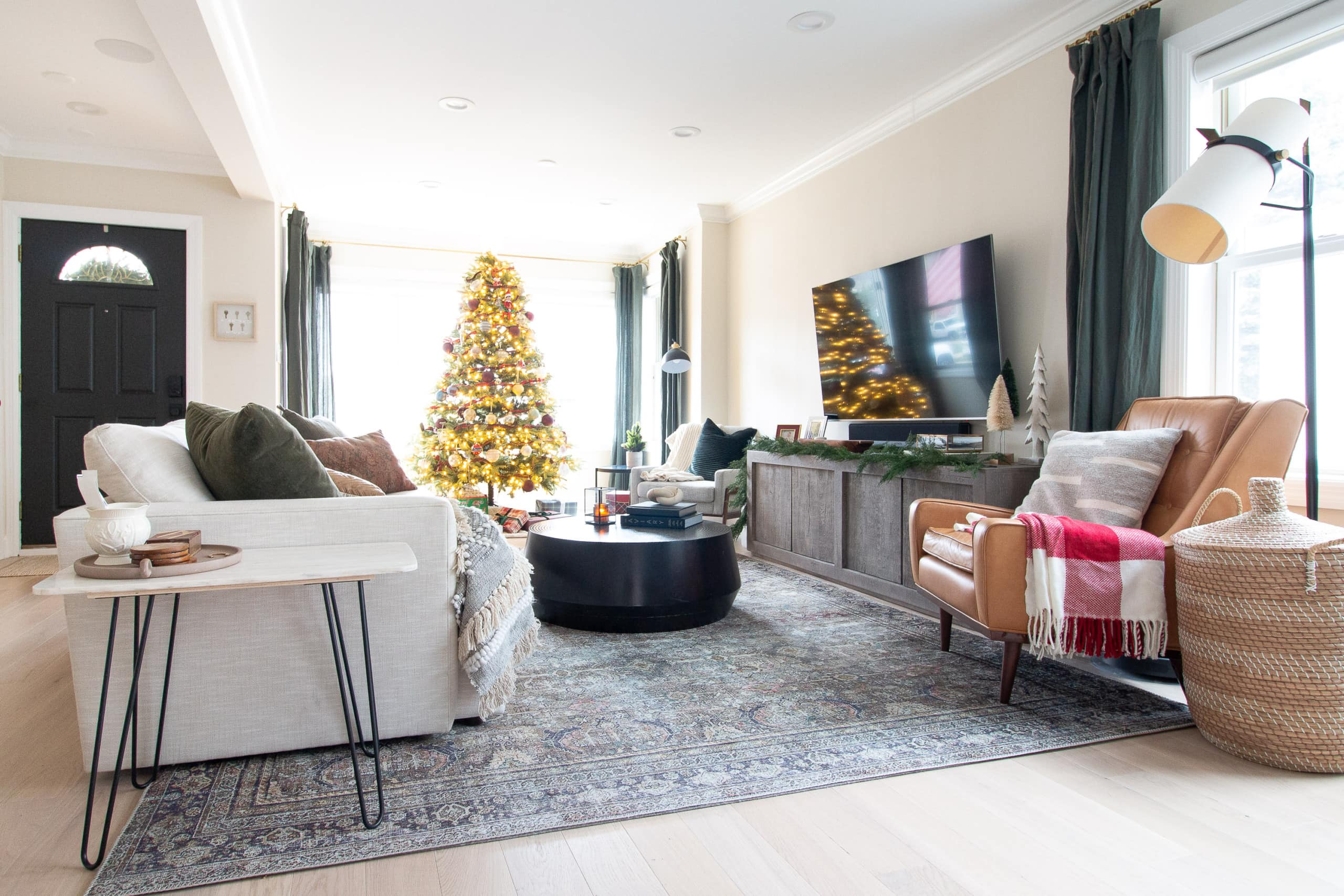 Our 2020 Christmas home tour
