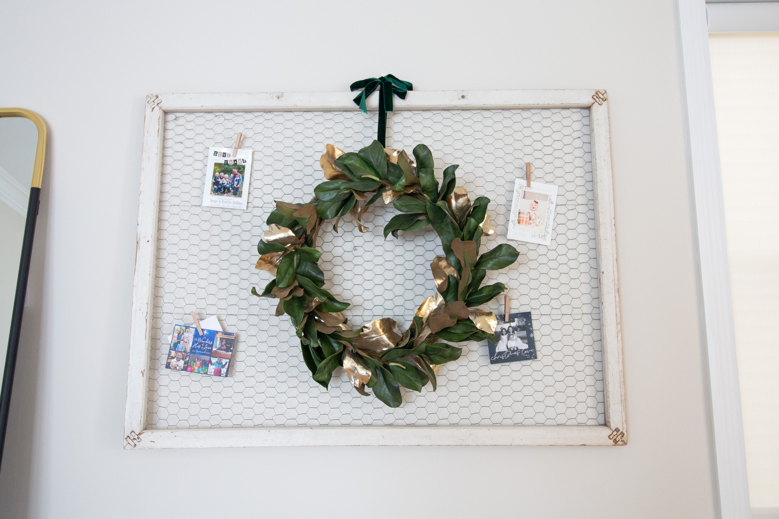 Tips to display Christmas cards