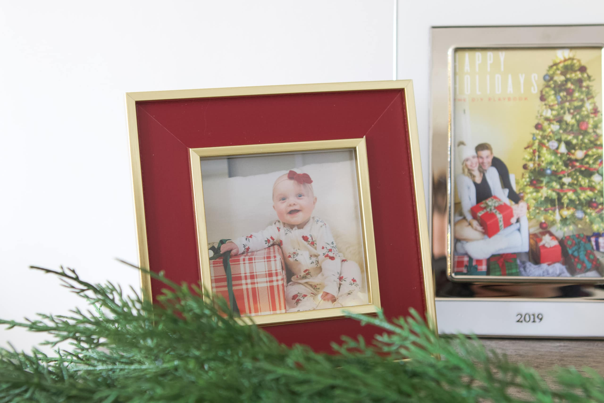 Framed pictures for each Christmas season