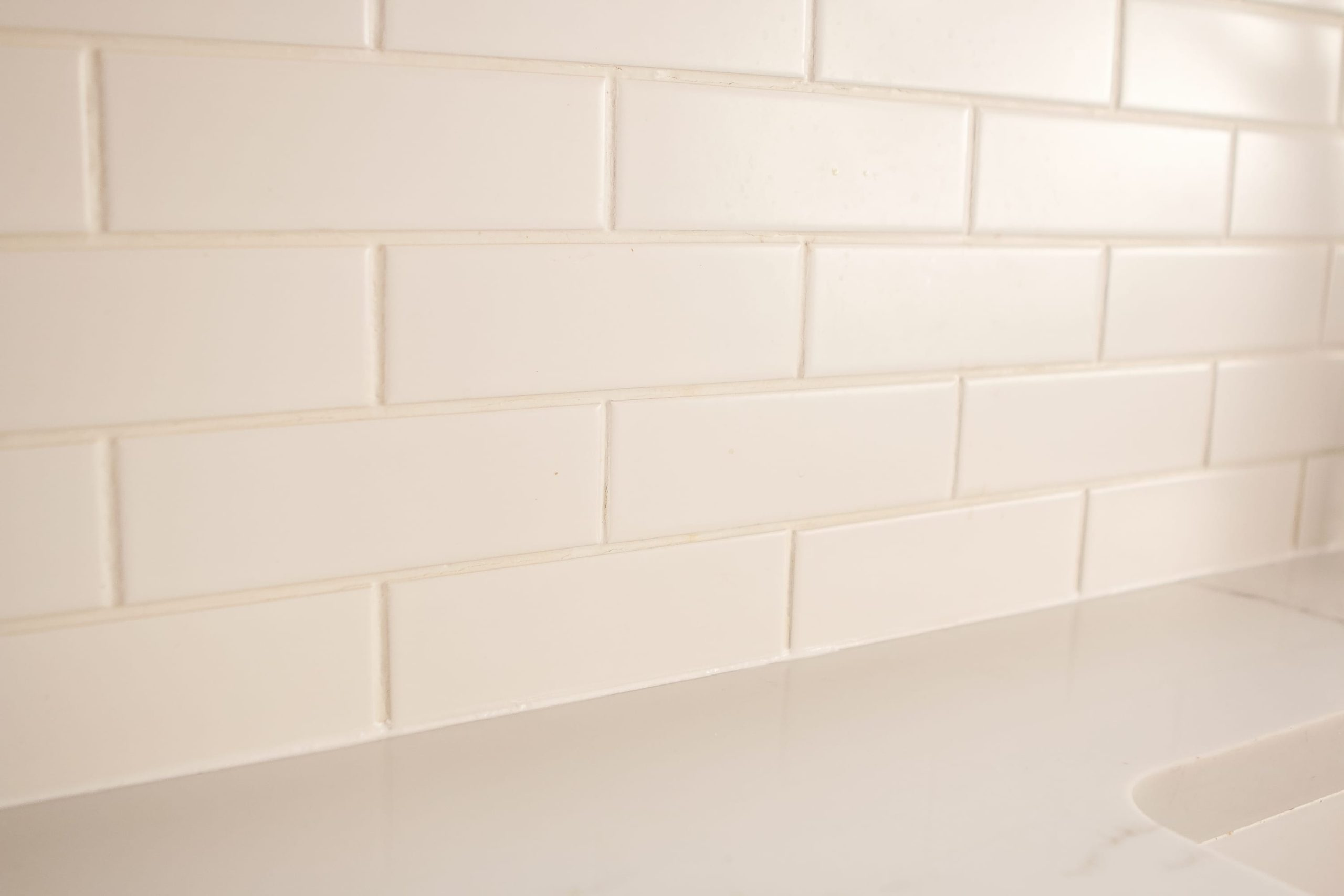 How to fix your caulk on your kitchen backsplash