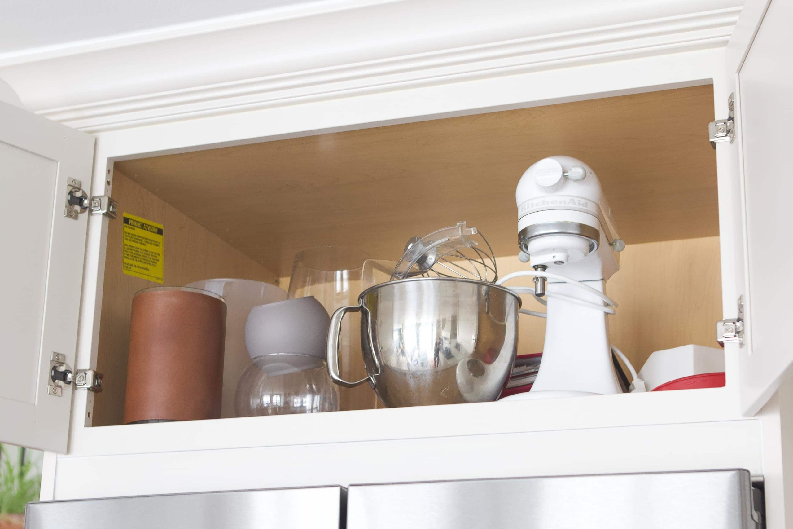 tips to organize kitchen cabinets