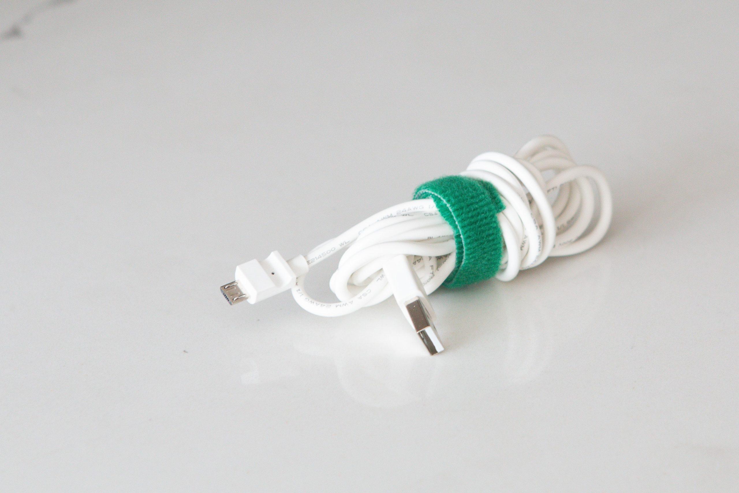 Using cord bundlers