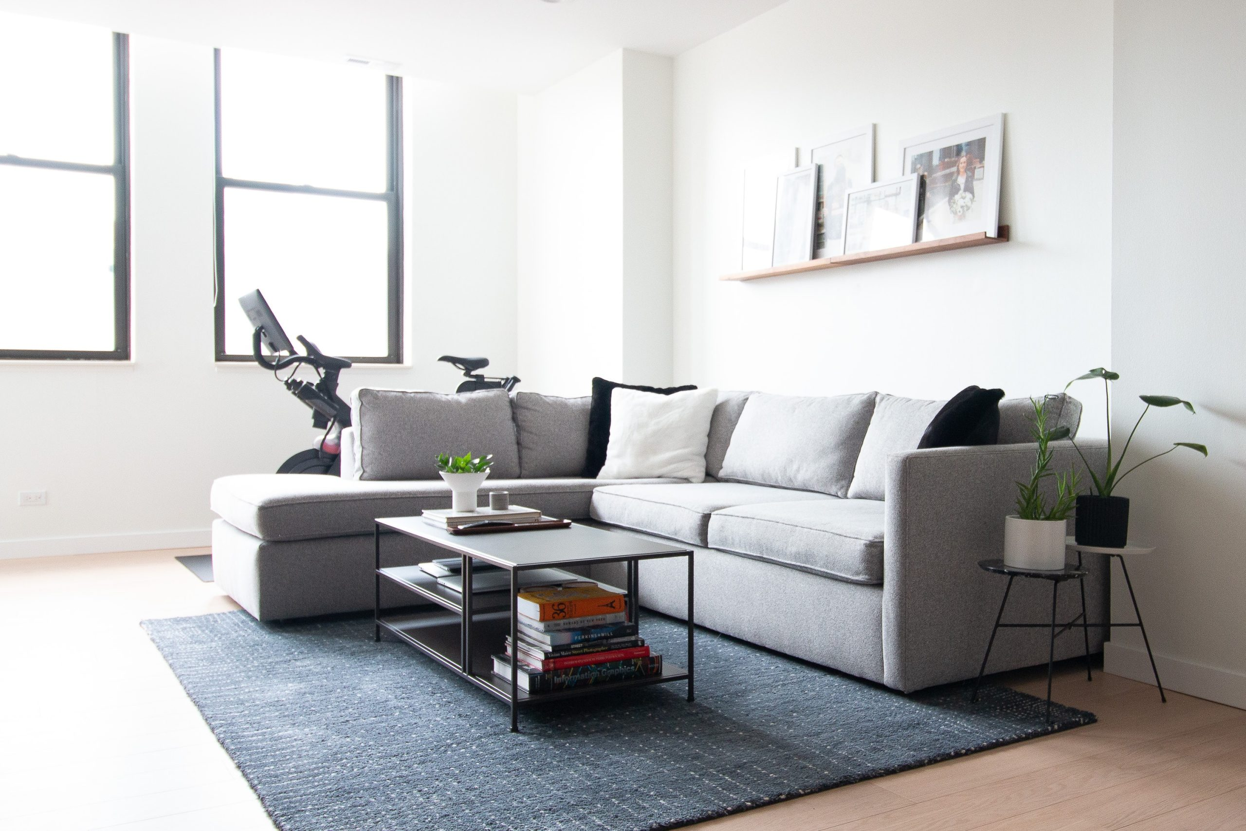 Chicago condo before and after