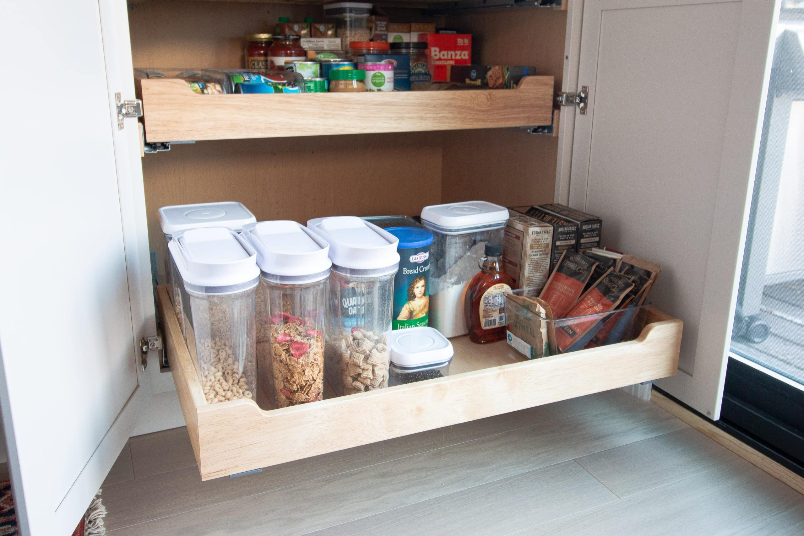 Our favorite items to organize a pantry