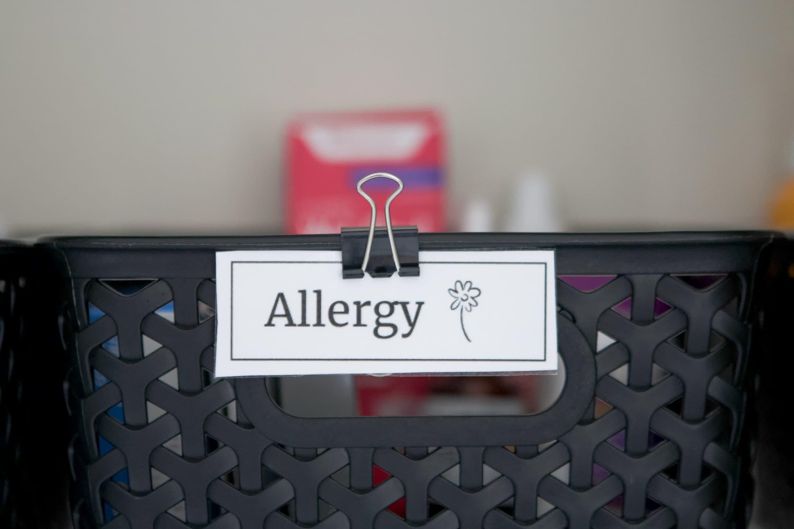 Make labels to help you organize medicine
