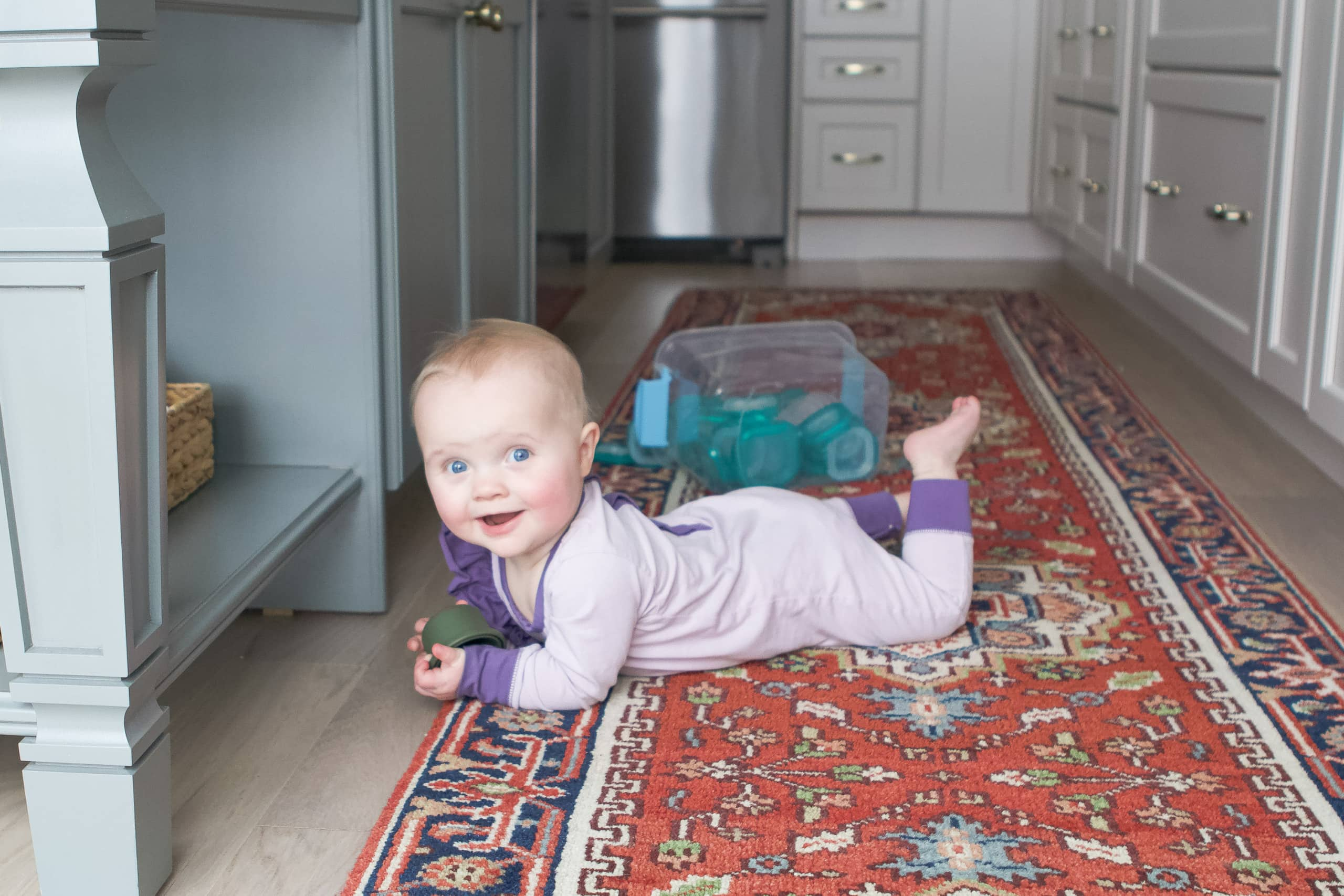 How we babyproofed our home for our daughter