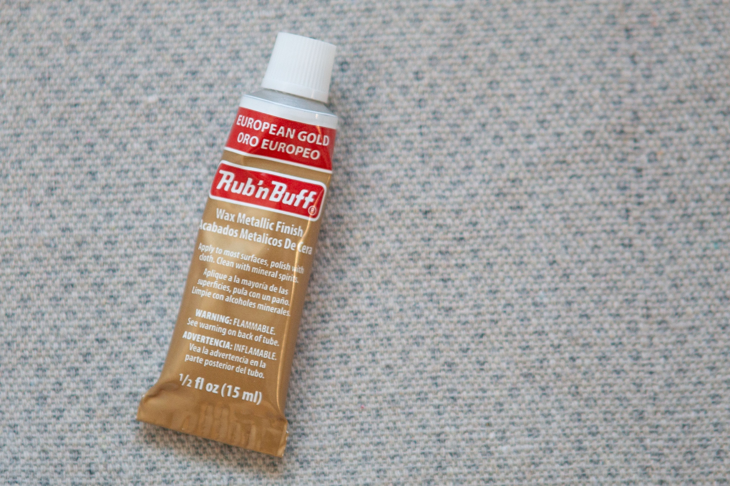 Using Rub 'N Buff for a craft project