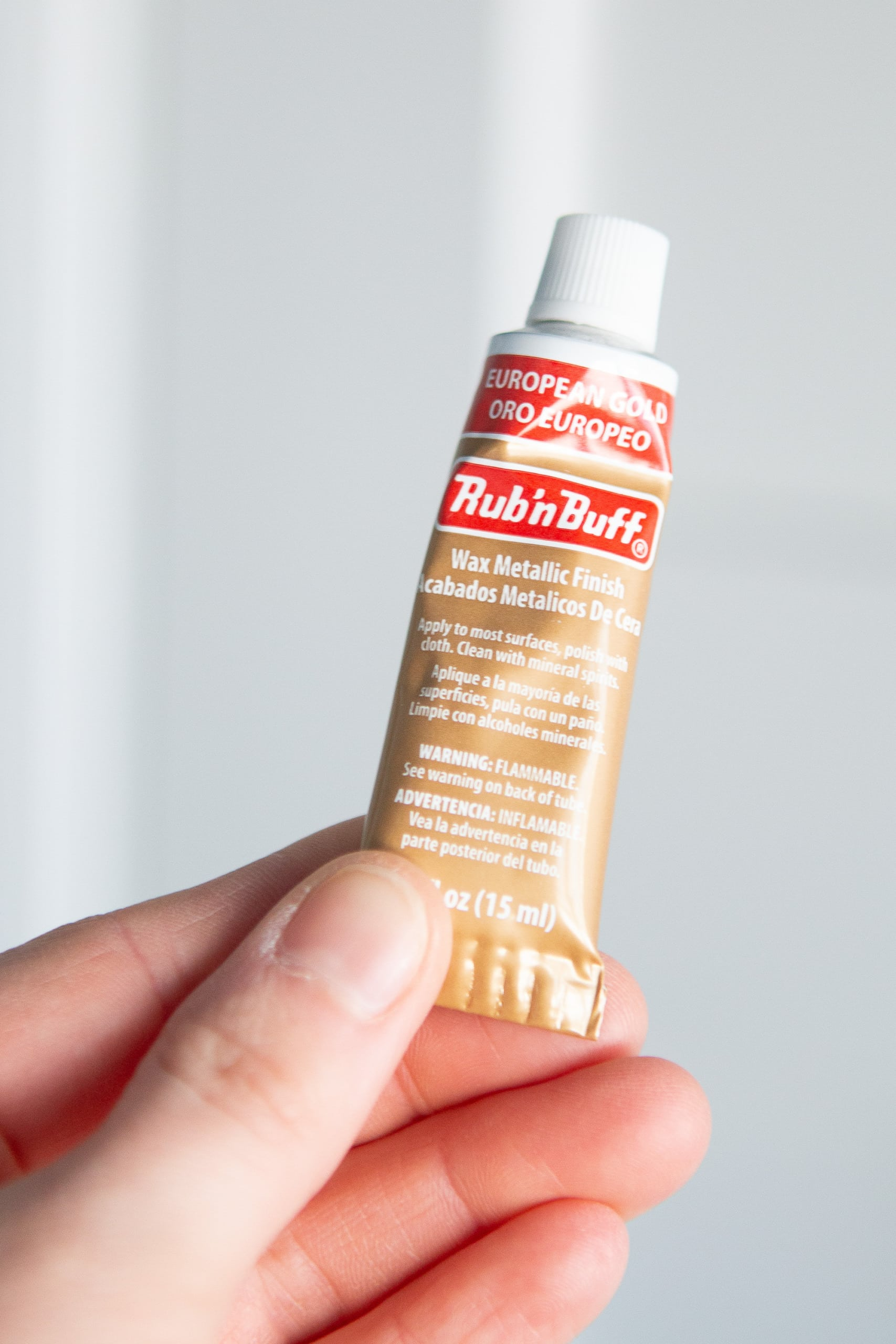 How to best use rub 'n buff for your home project