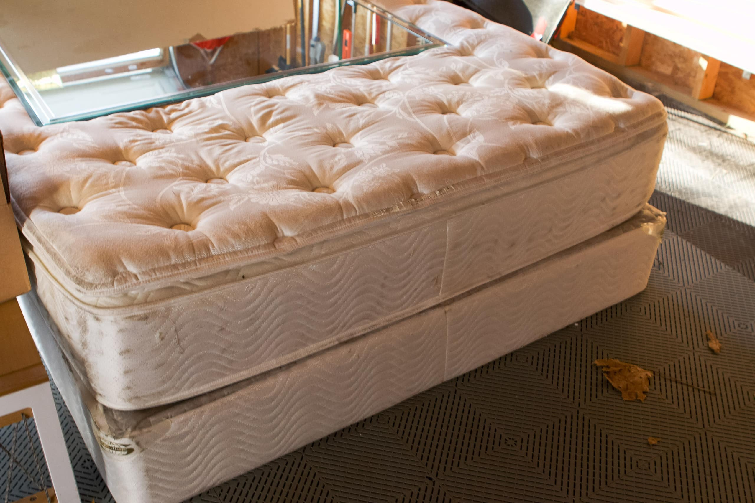 Our old mattress