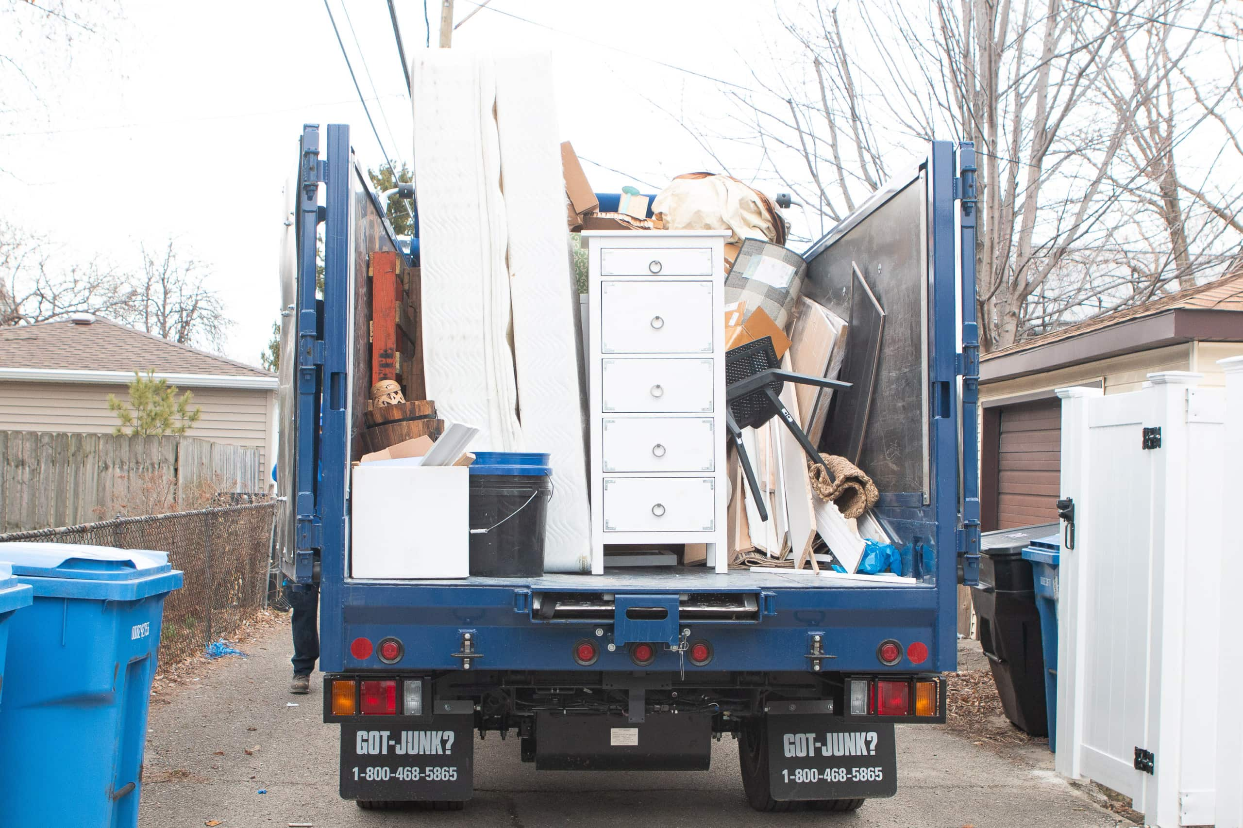 Getting rid of lots of junk