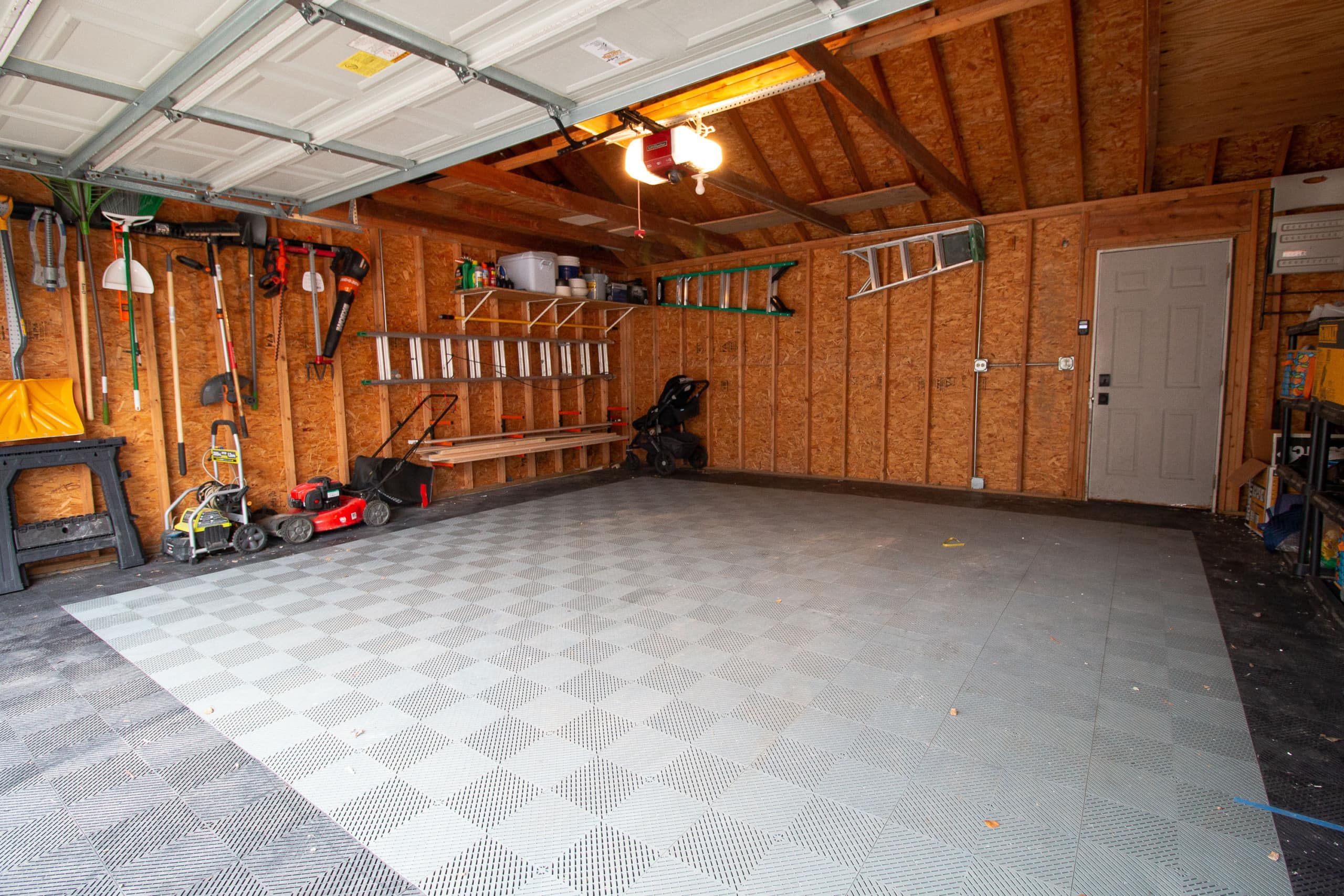 Our cleared out garage