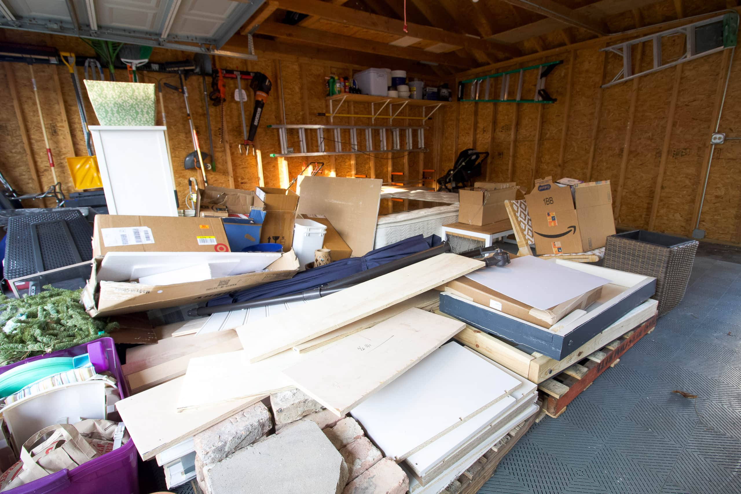 Our big junk pile