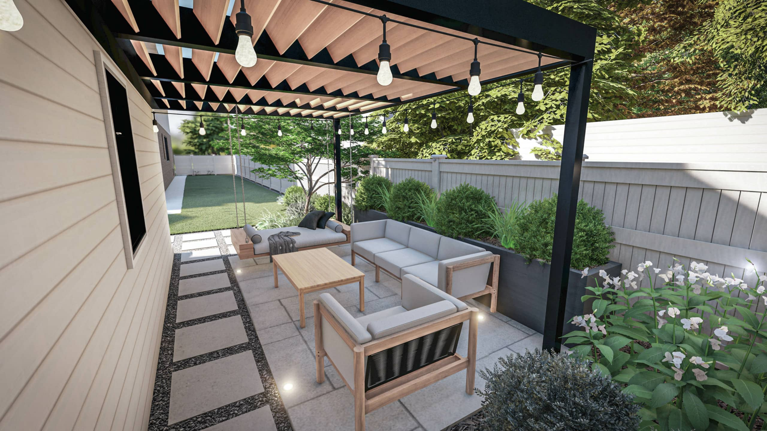 Our Yardzen backyard design plan