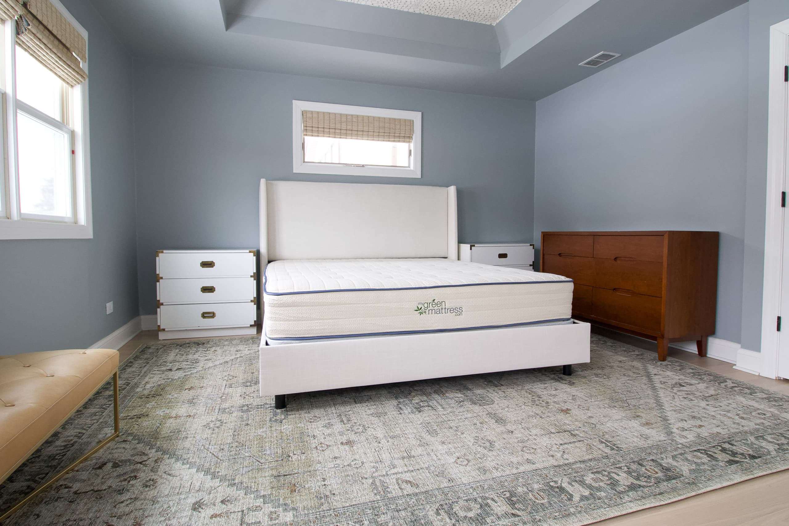Our new king-sized mattress