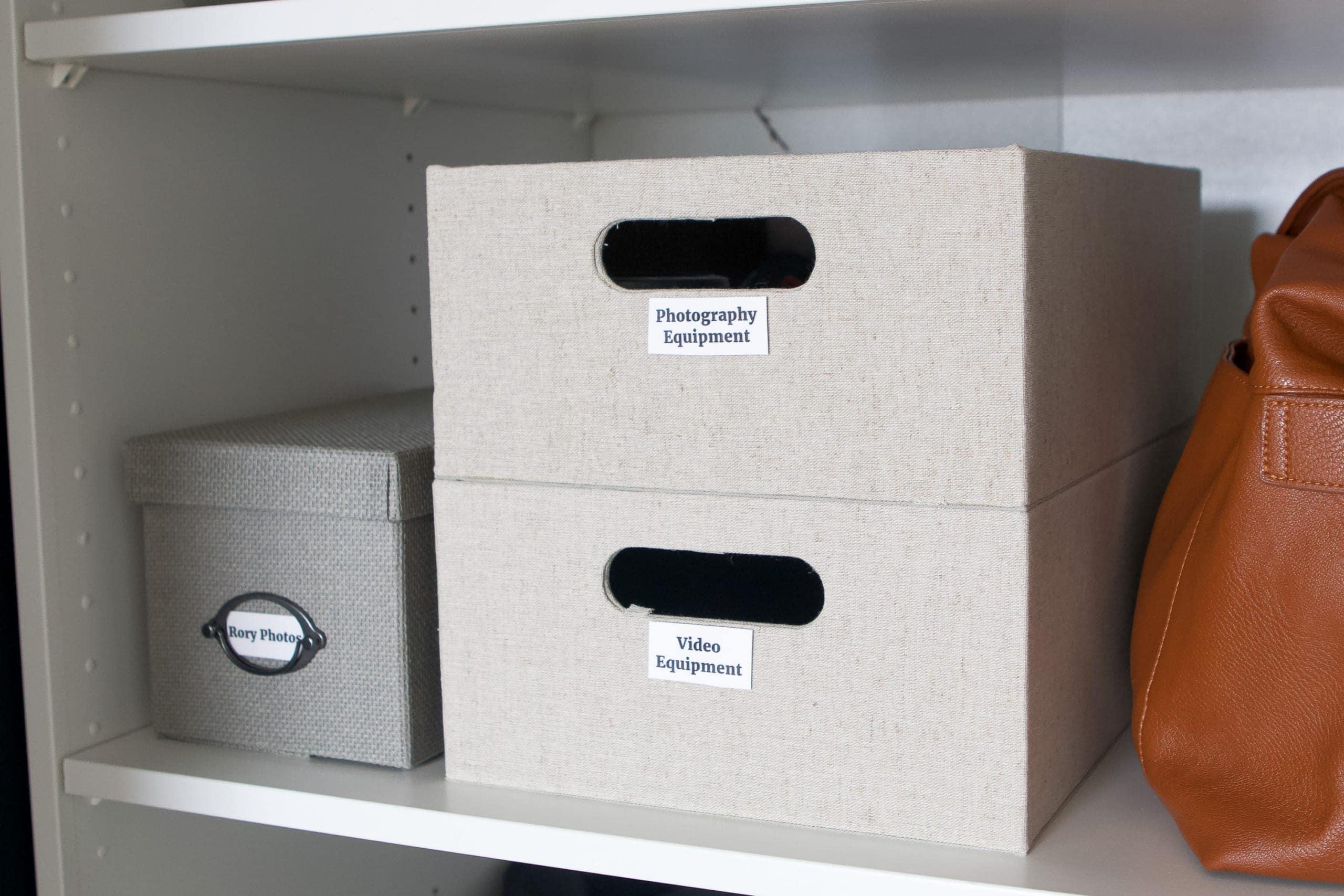 Adding more storage bins