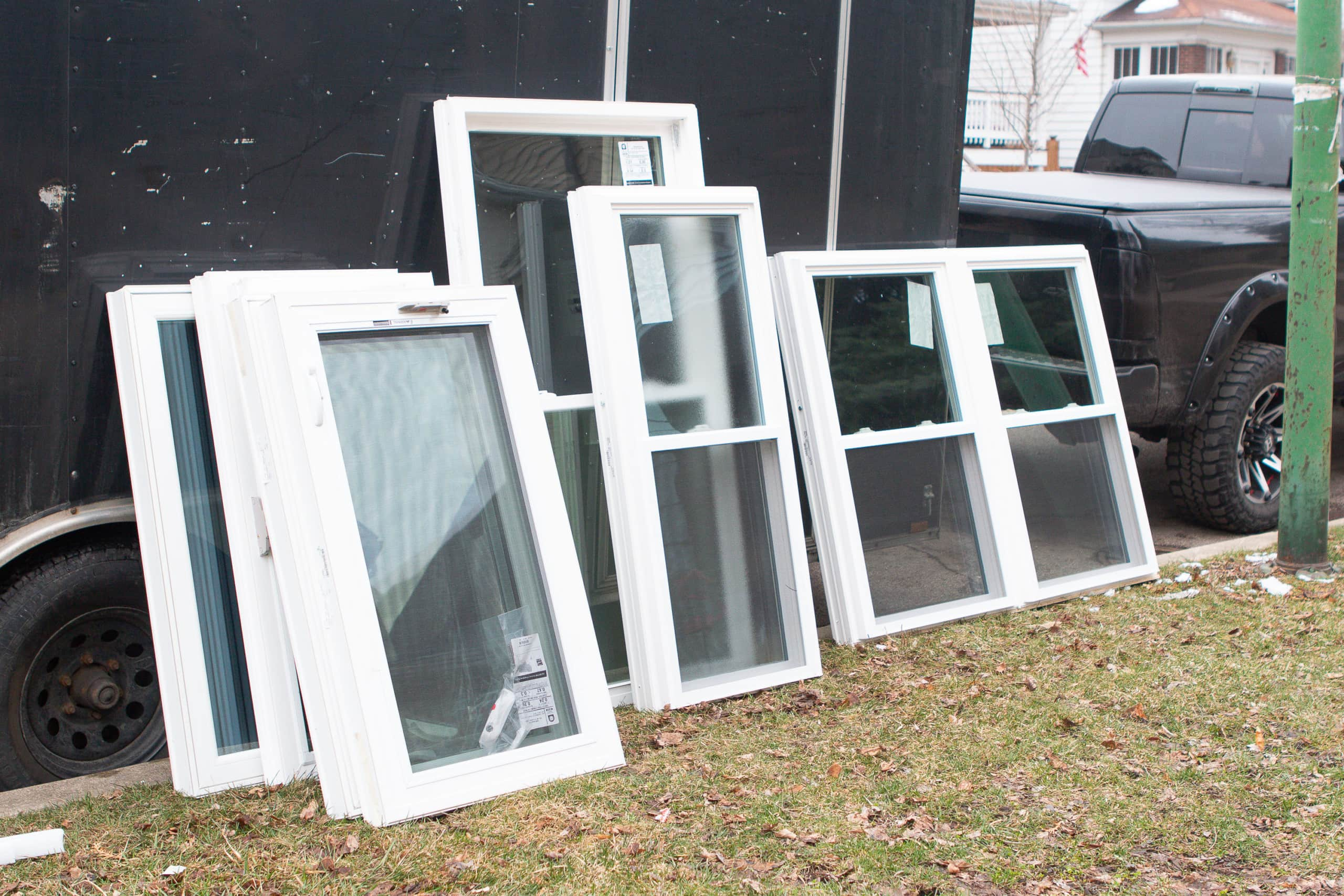 Our new windows