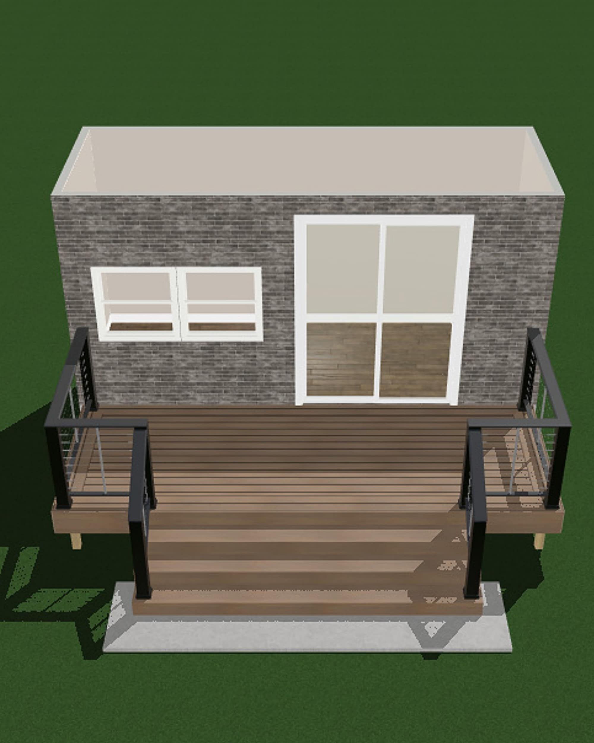 Our backyard renovation gameplan for a new deck